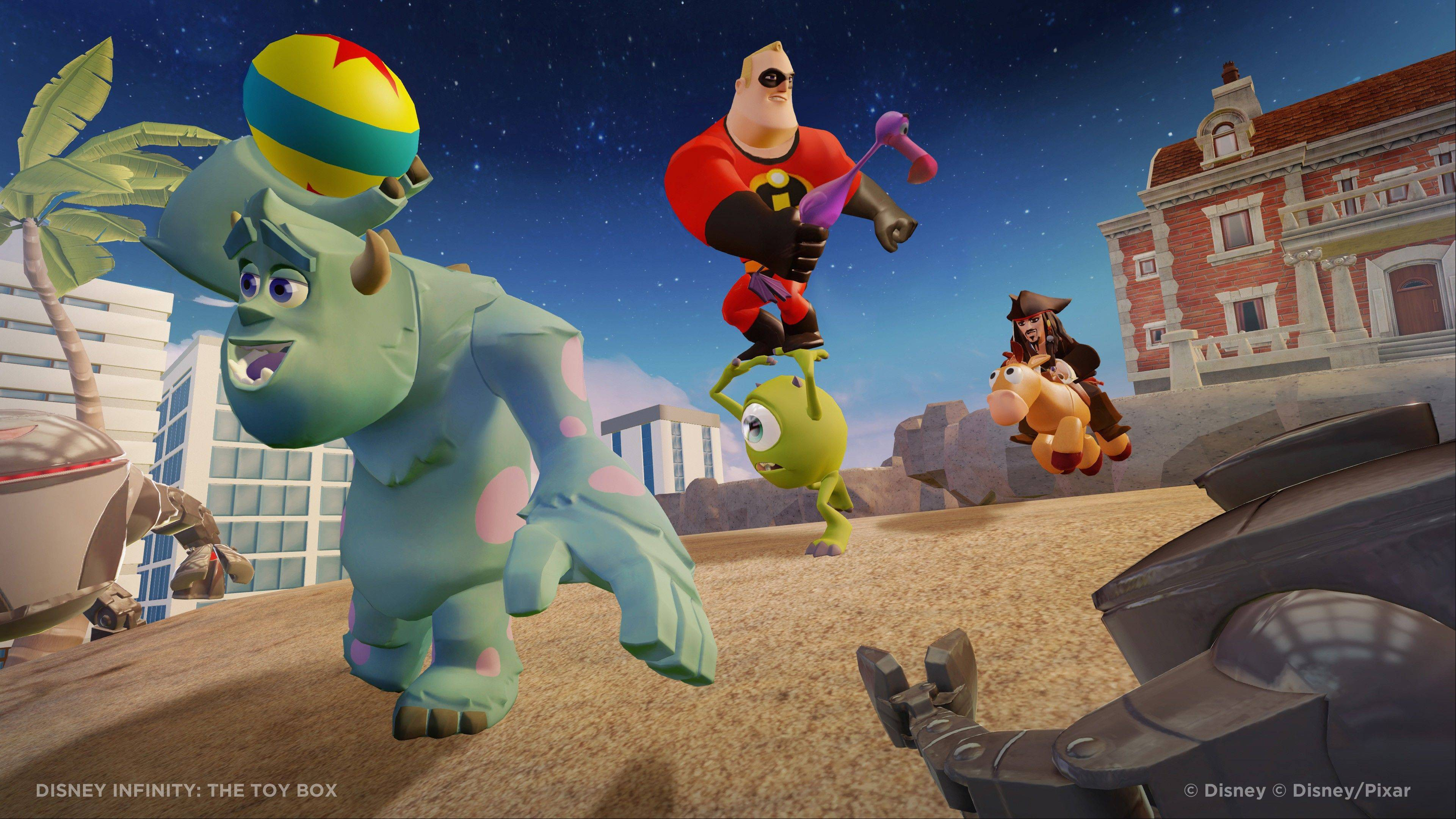 """Disney Infinity: The Toy Box."""