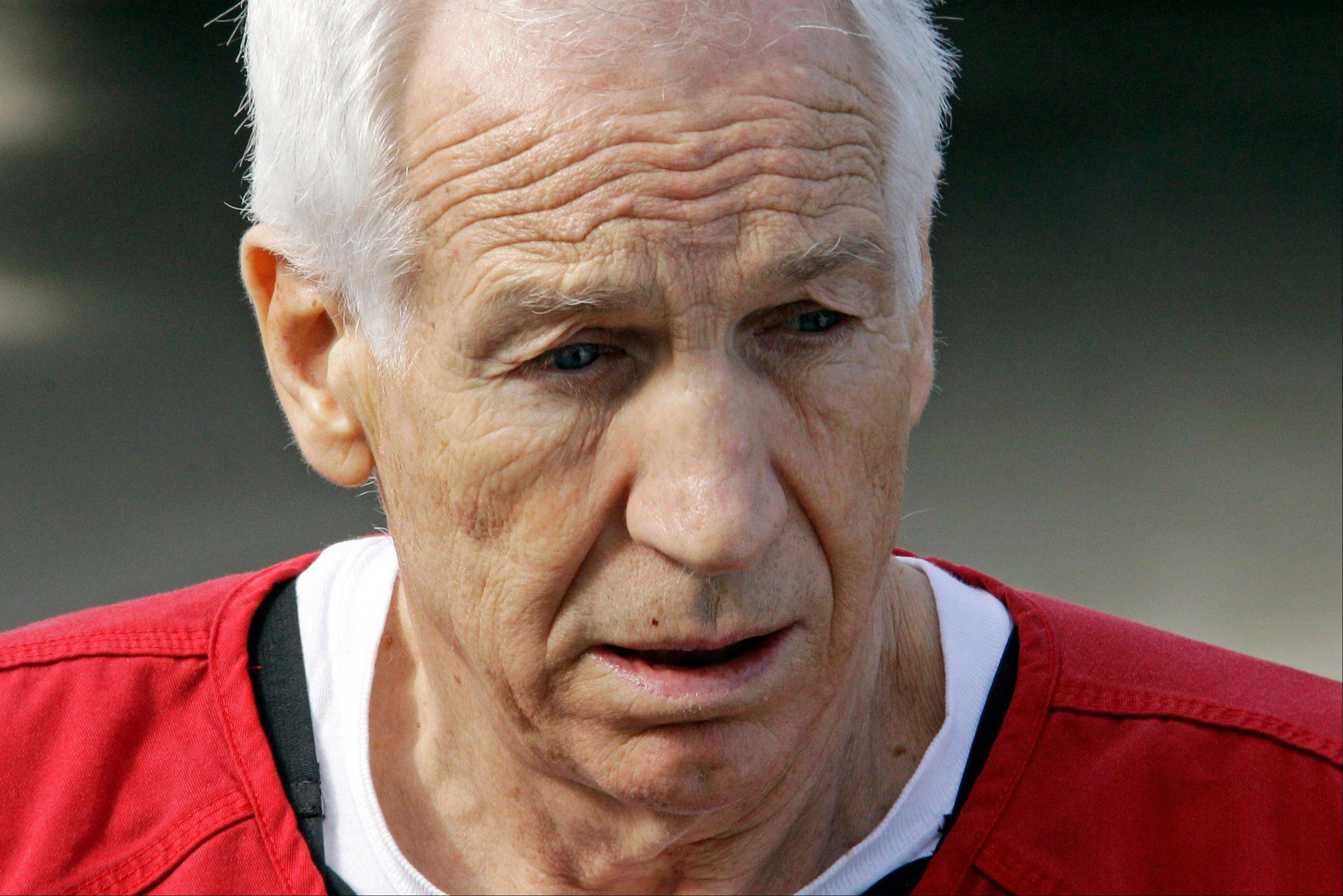 Former Penn State University assistant football coach Jerry Sandusky was sentenced to 30-60 years in prison for sexually abusing 10 boys.