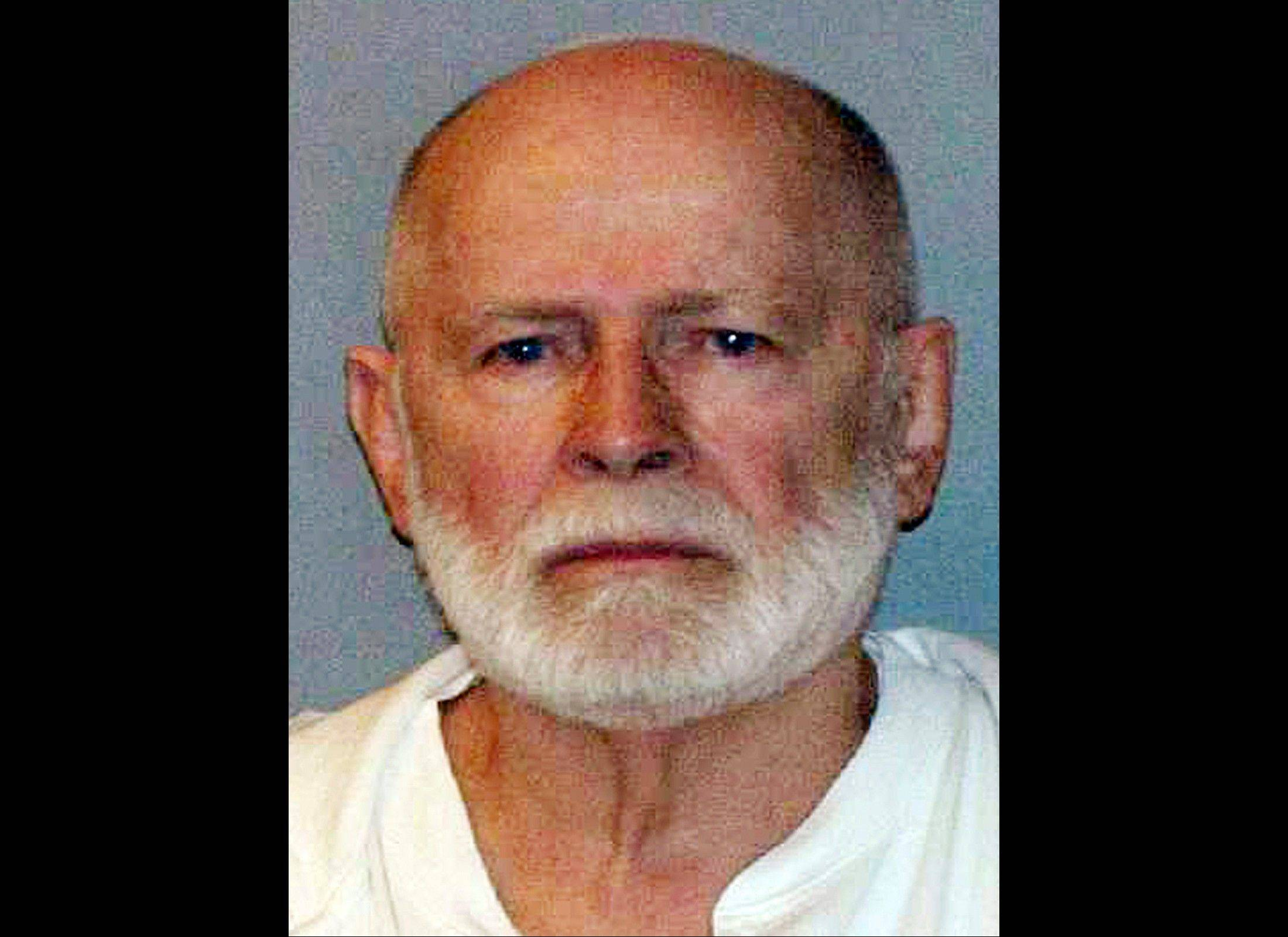 This June 23, 2011 booking file photo provided by the U.S. Marshals Service shows James �Whitey� Bulger, who fled Boston in 1994 and was captured 2011 in Santa Monica, Calif., after 16 years on the run. A jury found Bulger guilty on several counts of murder, racketeering and conspiracy Monday, Aug. 12, 2013 in federal court in Boston.