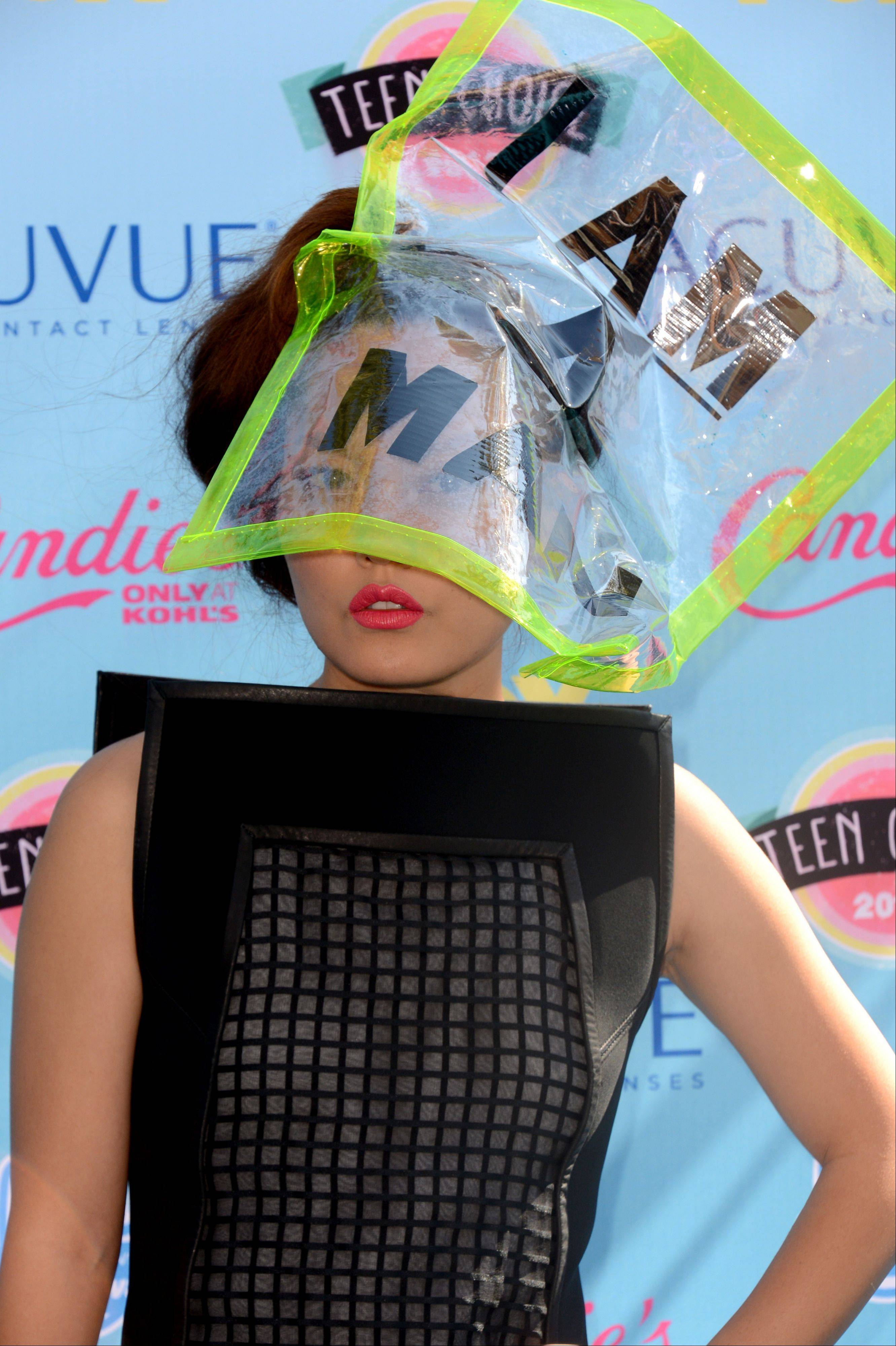 """Pitch Perfect"" star Hana Mae Lee arrives at the Teen Choice Awards on Sunday."