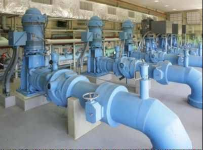 Water pumps at the Central Lake County Joint Action Water Agency facility in Lake Bluff. The agency would supply Lake Michigan water to Lindenhurst, Lake Villa and two unincorporated areas under a pending plan.