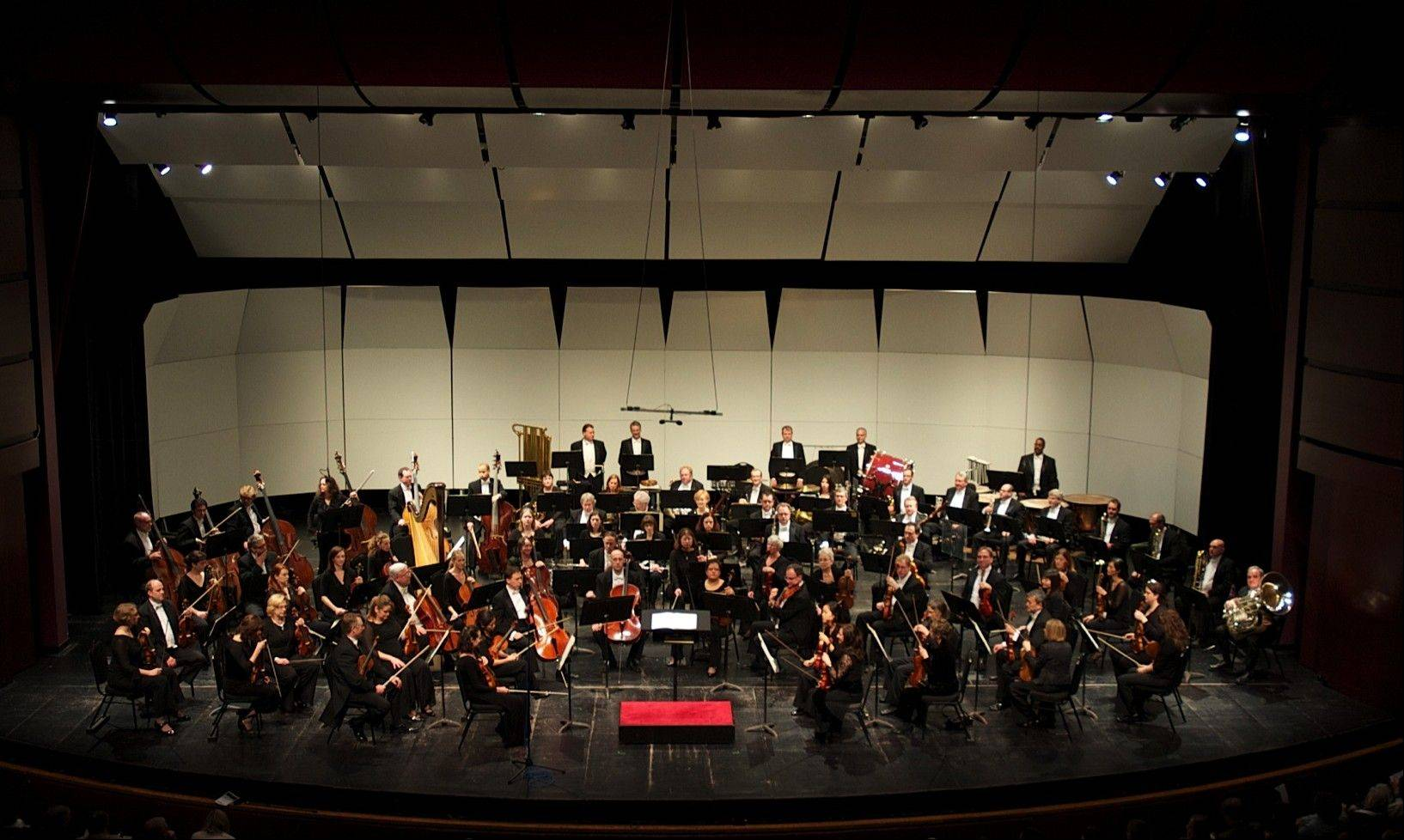 The Elgin Symphony Orchestra is the largest professional orchestra in the suburbs and second largest in the state.