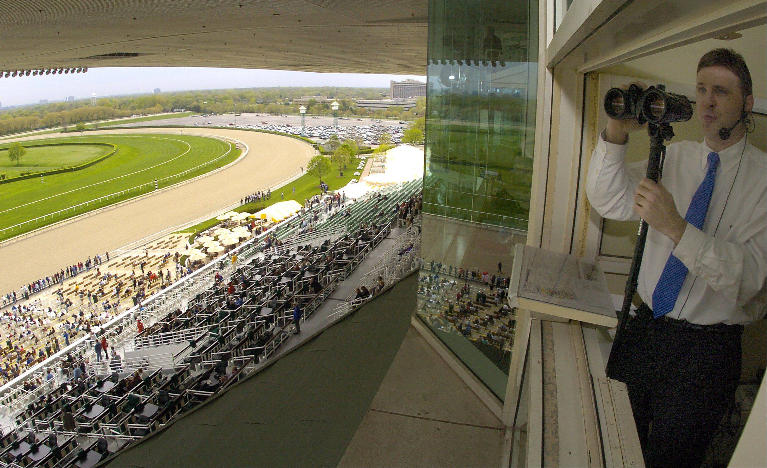 Track announcer John Dooley can easily reel off the details of each of the previous 13 runnings of the Arlington Million. The 47-year-old will call Arlington's signature race and three Grade I races on Saturday's card.