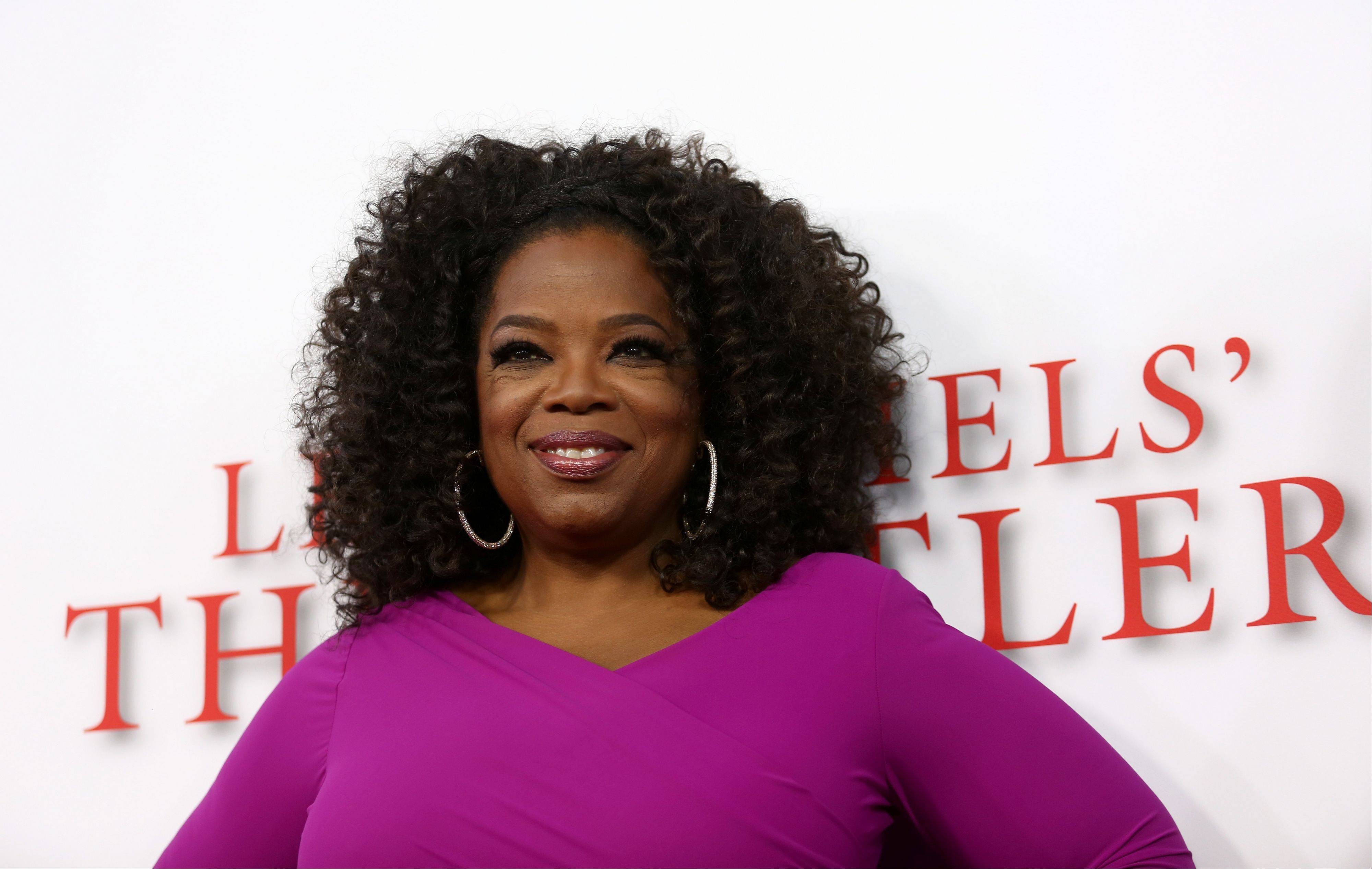 Oprah Winfrey arrives at the Los Angeles premiere of �Lee Daniels� The Butler� at the Regal Cinemas L.A. Live Stadium 14 on Monday.