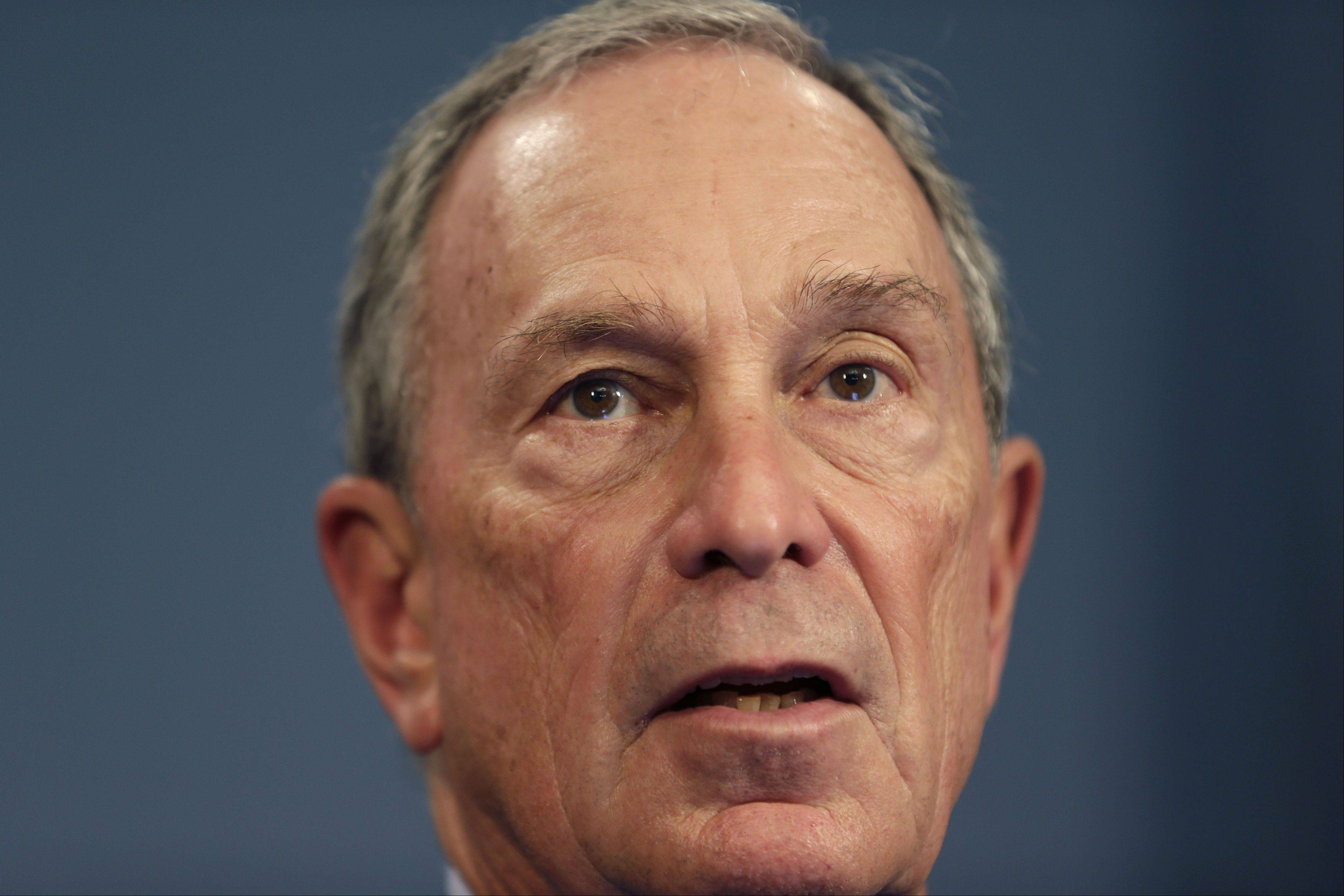 Associated Press New York City Mayor Michael Bloomberg speaks during a news conference in New York, Monday, Aug. 12, 2013. A U.S. judge has appointed a monitor to oversee the New York Police Department�s controversial stop-and-search policy, saying it intentionally discriminates based on race and has violated the rights of tens of thousands of people.