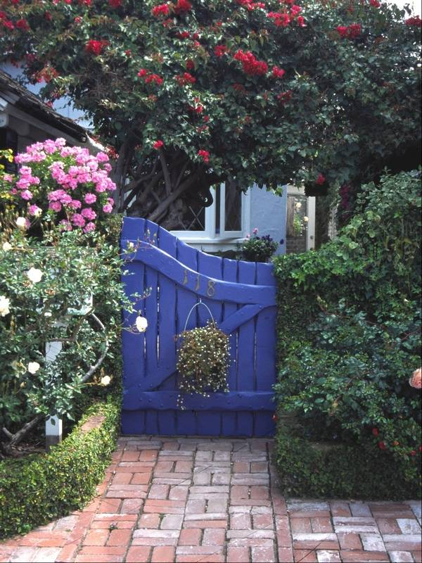Conjure up color to create yard magic on Gate Color Ideas  id=67234