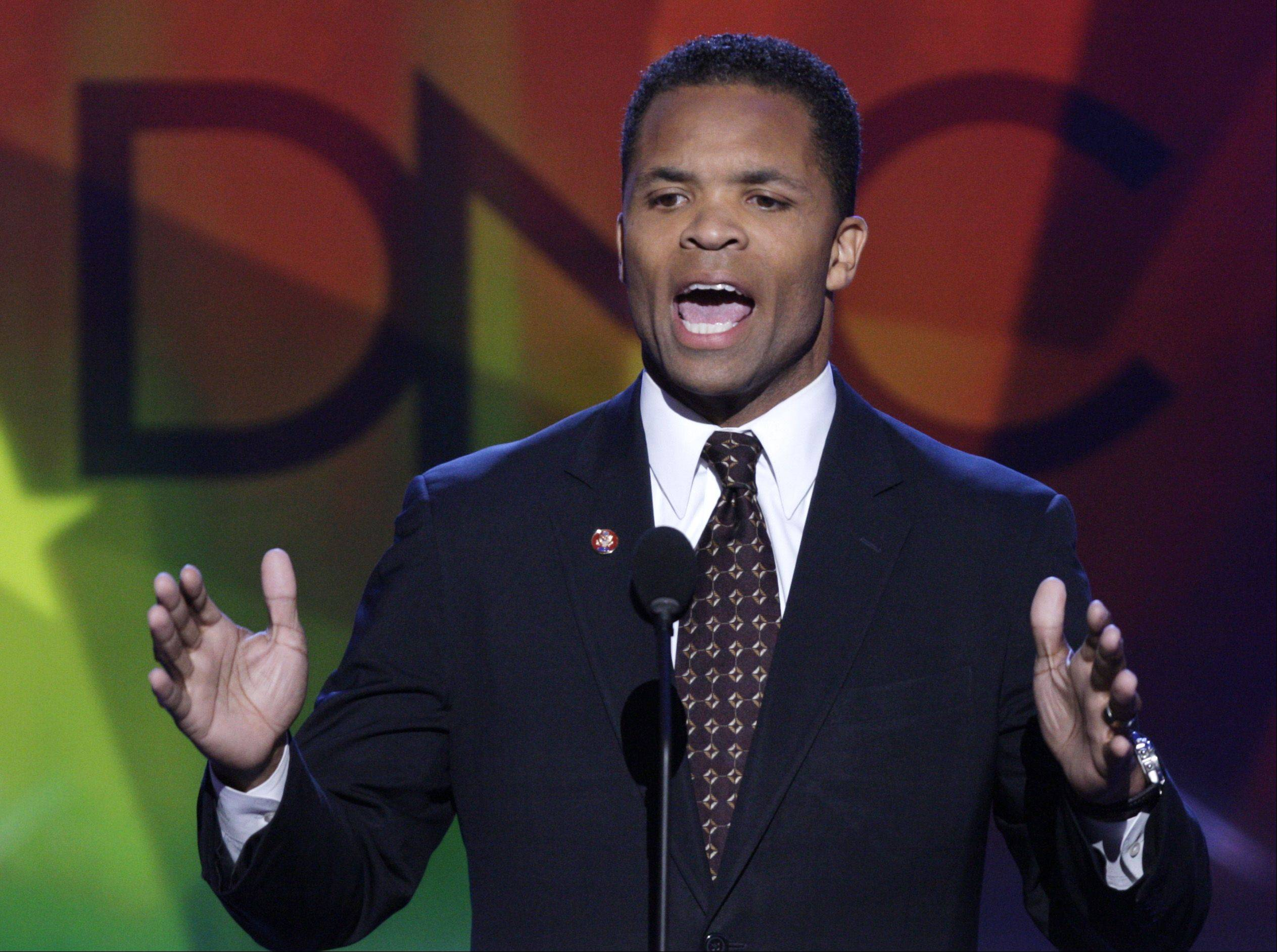 Once a rising star, Jesse Jackson Jr. spoke at the 2008 Democratic National Convention in Denver.