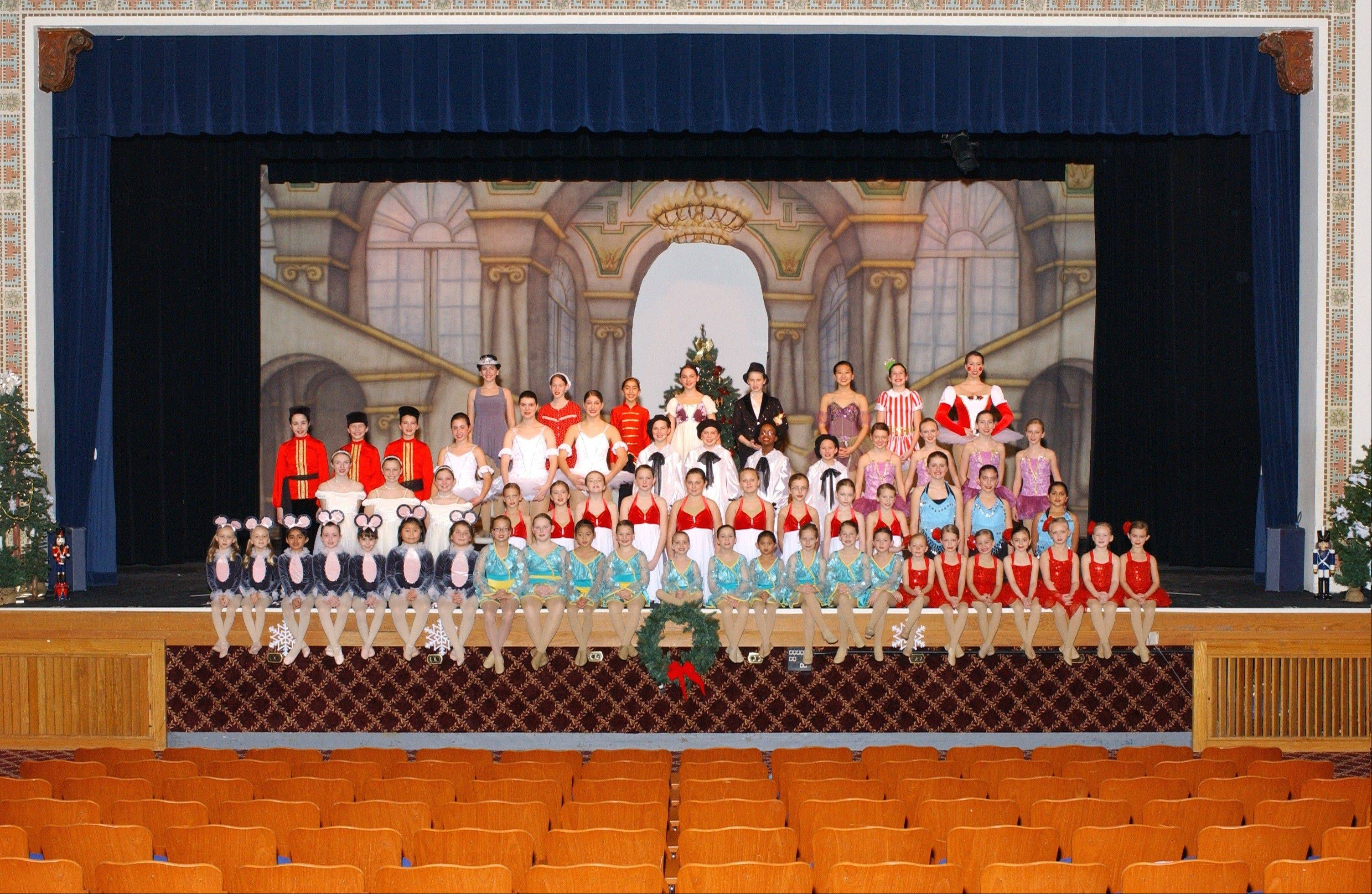 "Dancers from the Palatine Park District's dance program in last year's production of the ""Nutcracker All Jazz'd Up."" The program will host an open house Saturday Aug. 17, at Community Center, 250 E. Wood St., in Palatine."