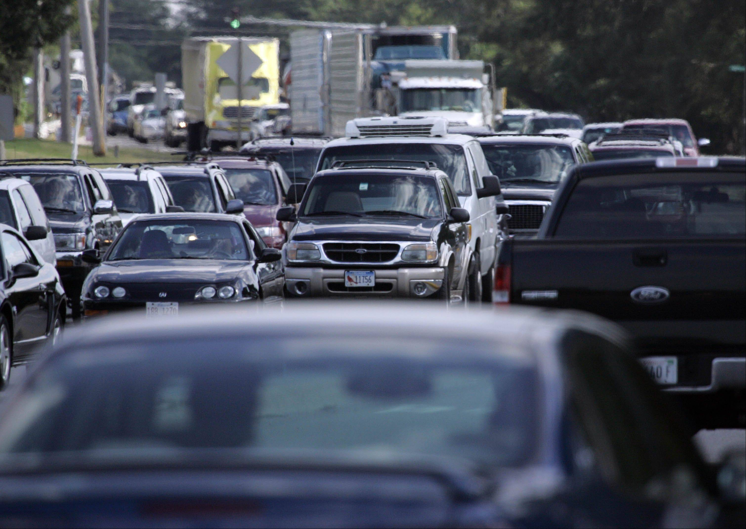 Construction set to begin Monday will widen an often-congested stretch of Route 59 between Ferry Road and Aurora Avenue/New York Street in Naperville and Aurora.