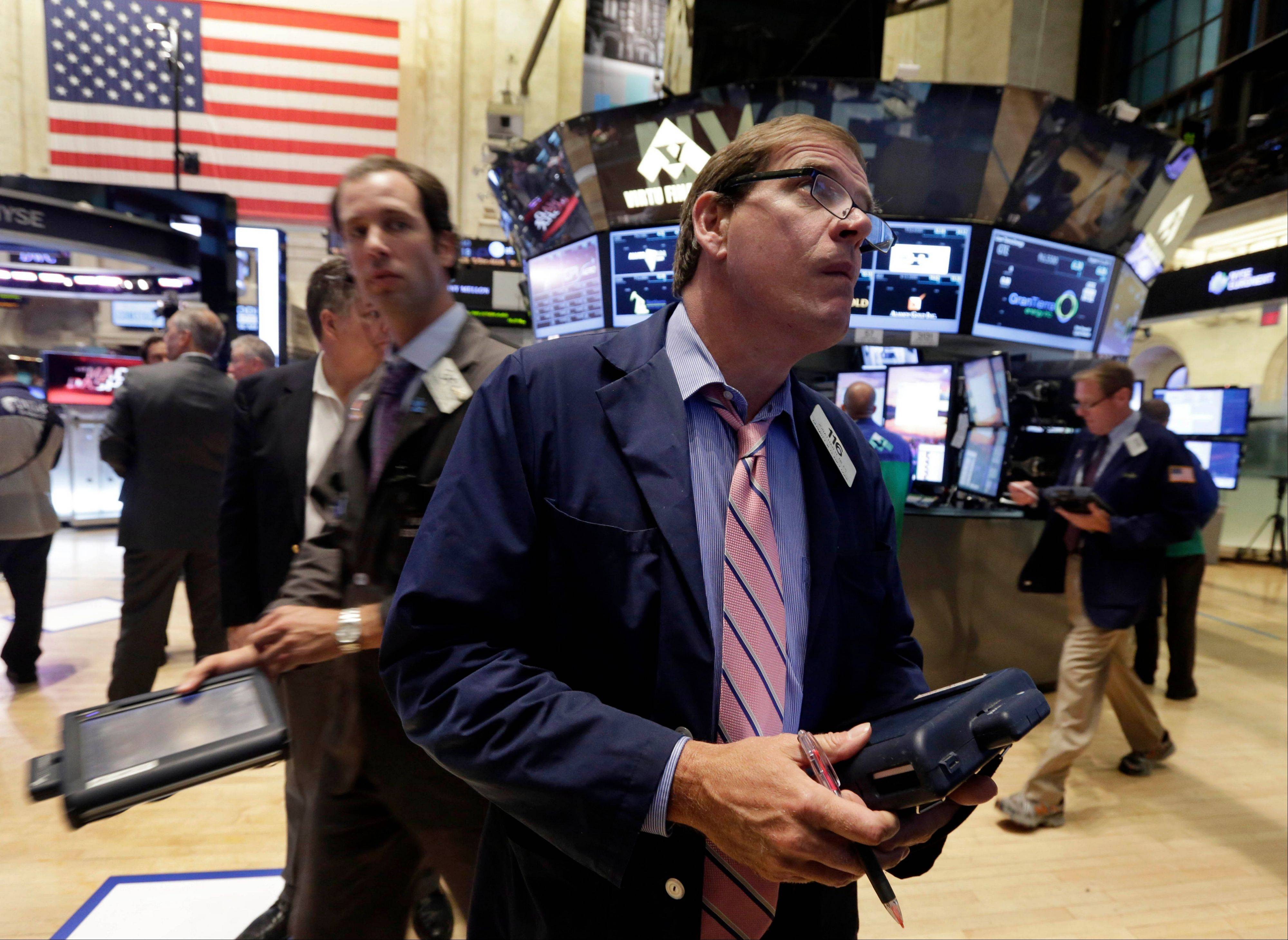 ASSOCIATED PRESS U.S. stocks fell, sending the Standard & Poor�s 500 Index lower for the sixth time in eight days, after economists predicted the Federal Reserve will reduce stimulus in September as European data added to signs that the global economy is strengthening.