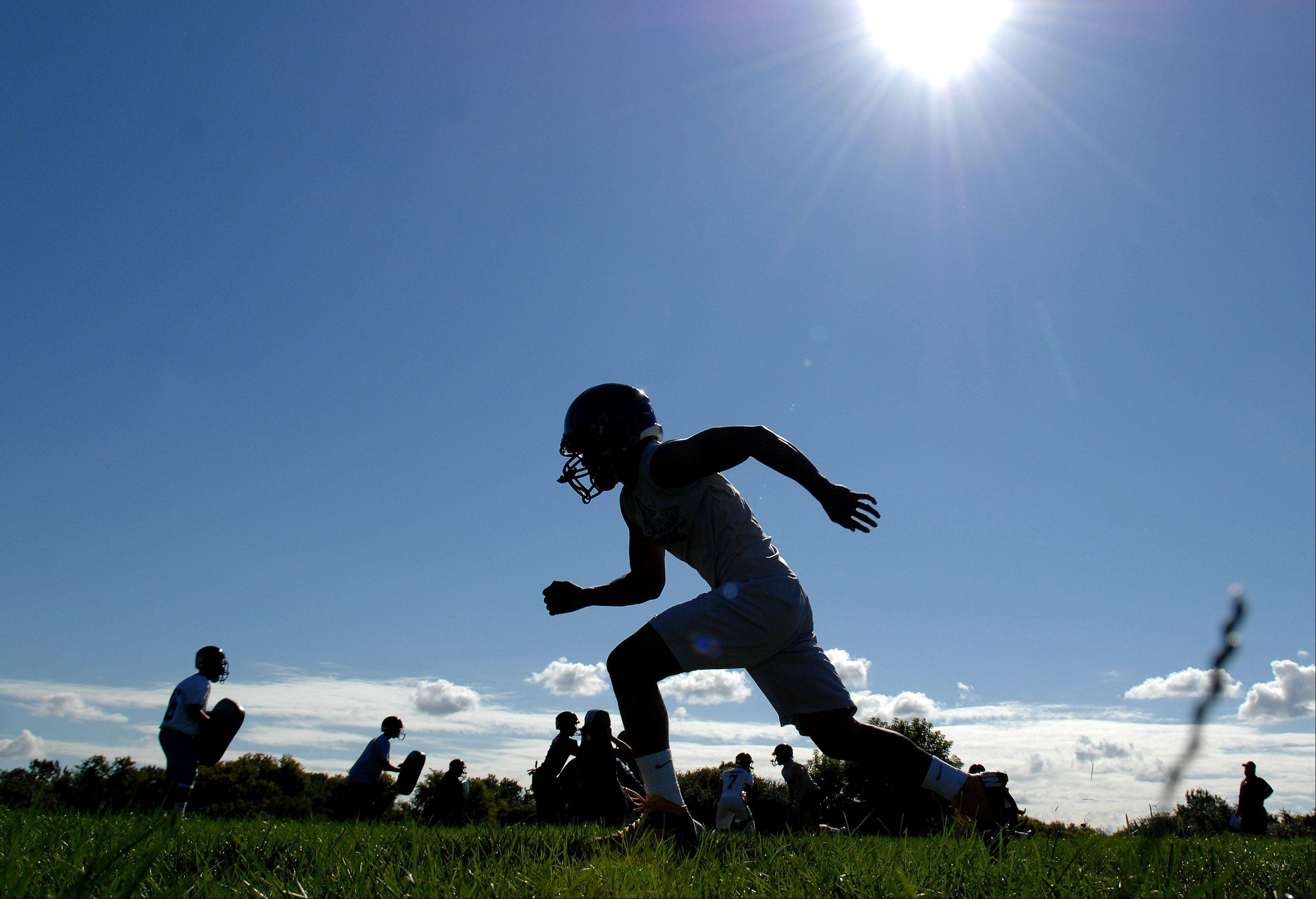 Images: Football Practice First Day in Northwest, Lake County