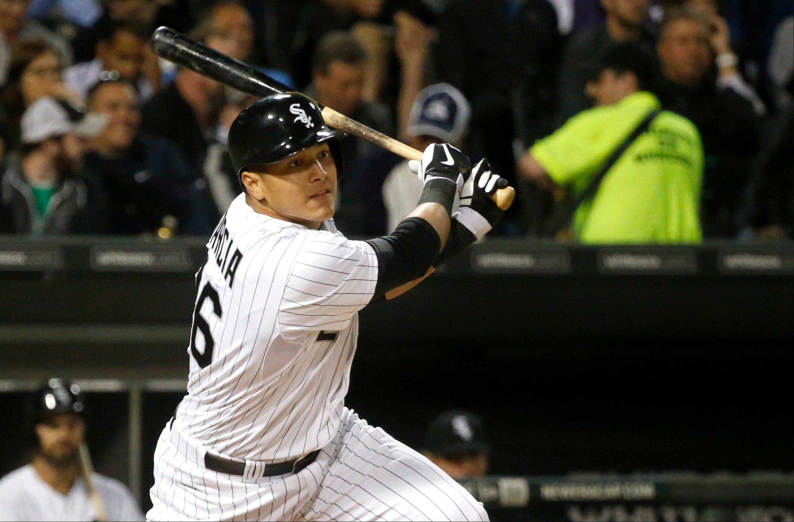 Avisail Garcia, recently acquired from the Tigers in the three-team Jake Peavy trade, is off to a promising start for the White Sox.