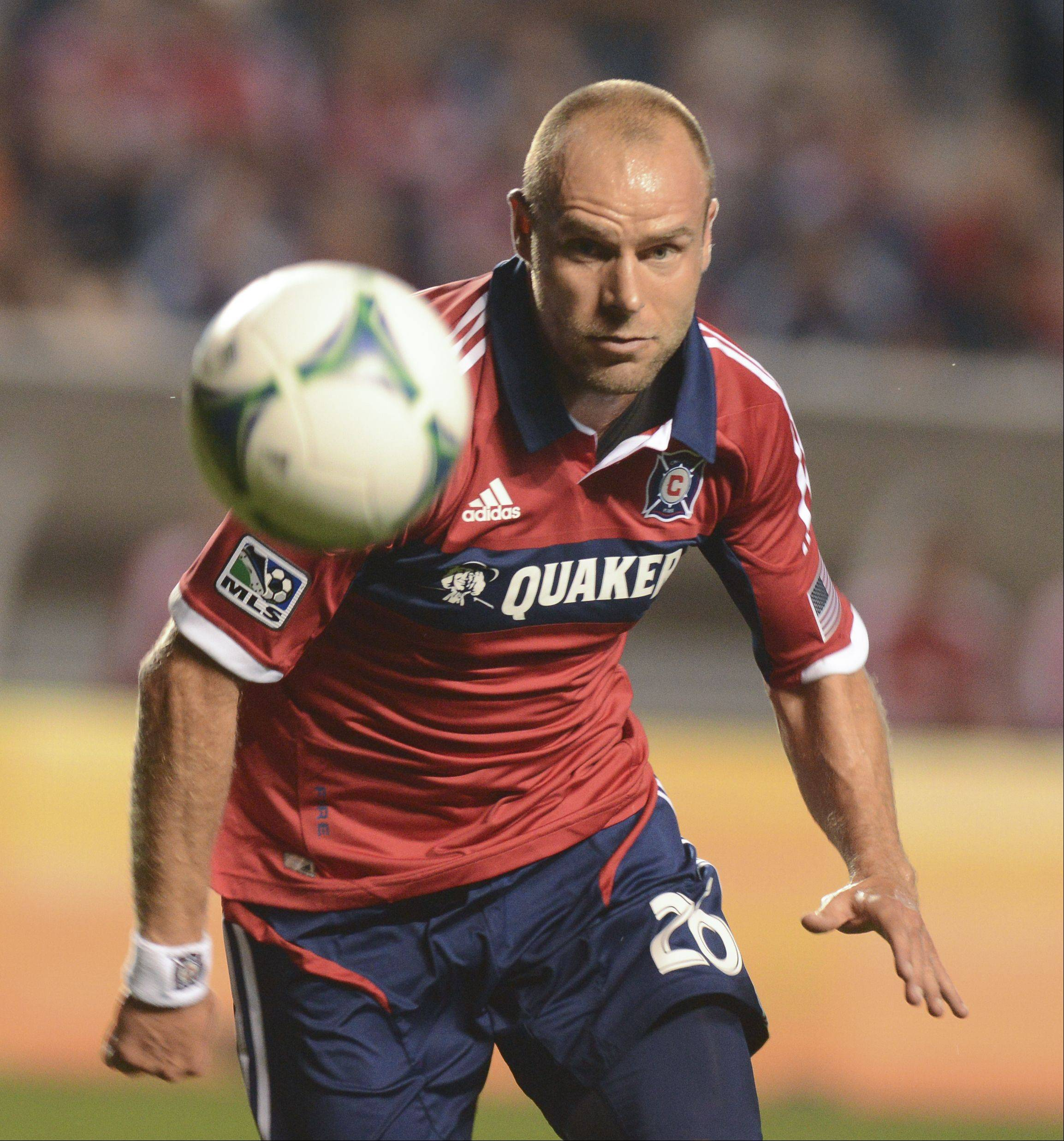 Joel Lindpere gives the Chicago Fire another scoring threat as they strive to make the MLS playoffs.