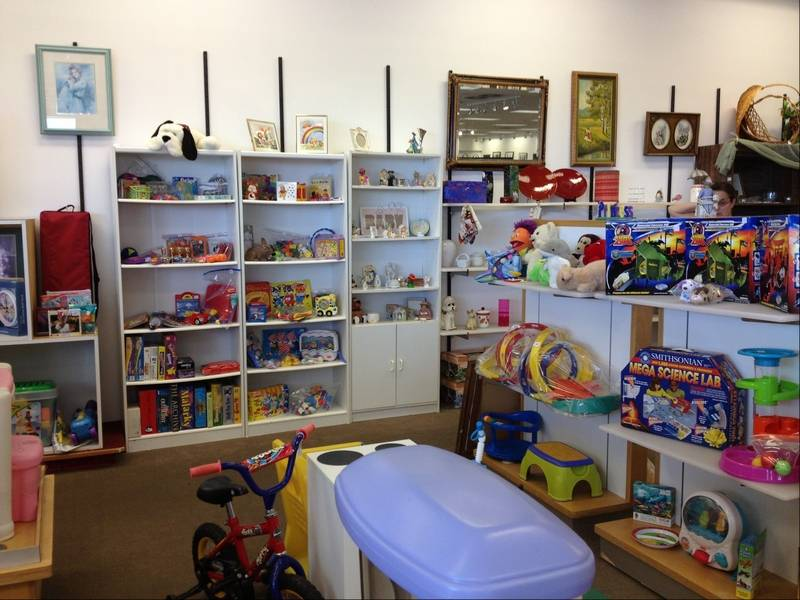 Gently Used Toys : Huntley outlet center new home for thrift shop