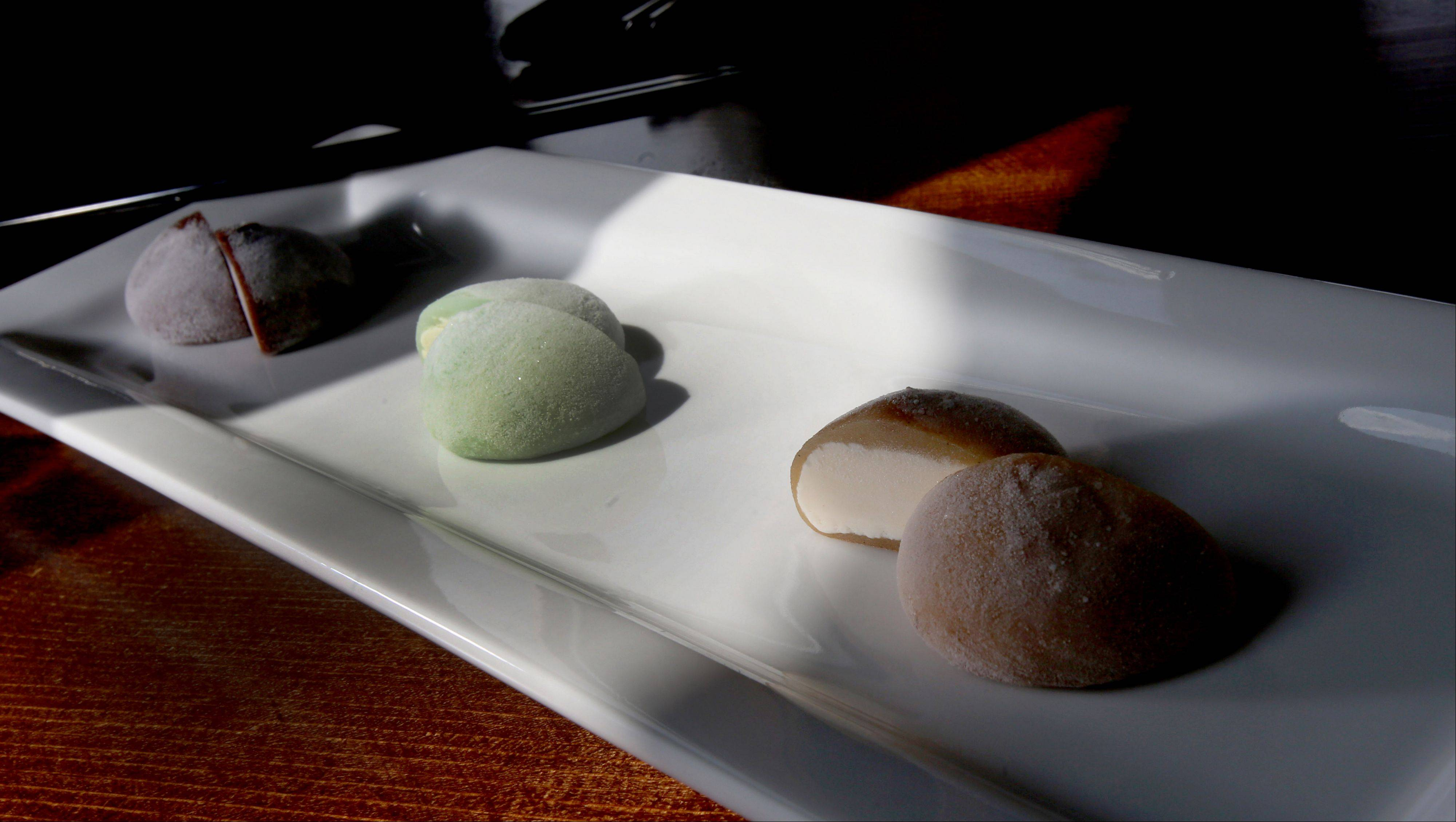 The flavorful, colorful mochi is just one dessert option at 8,000 Miles.