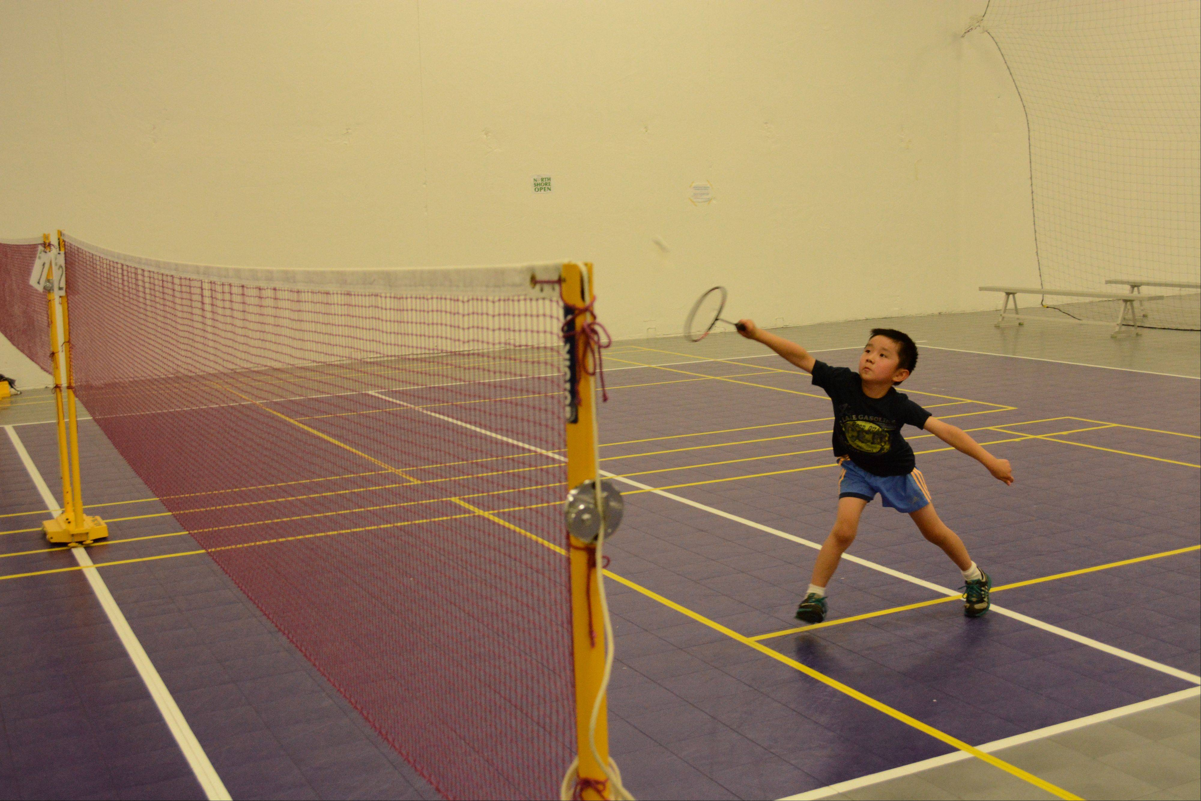 Students of all ages can learn the game of badminton at Shannon Pohl's academy in Vernon Hills.