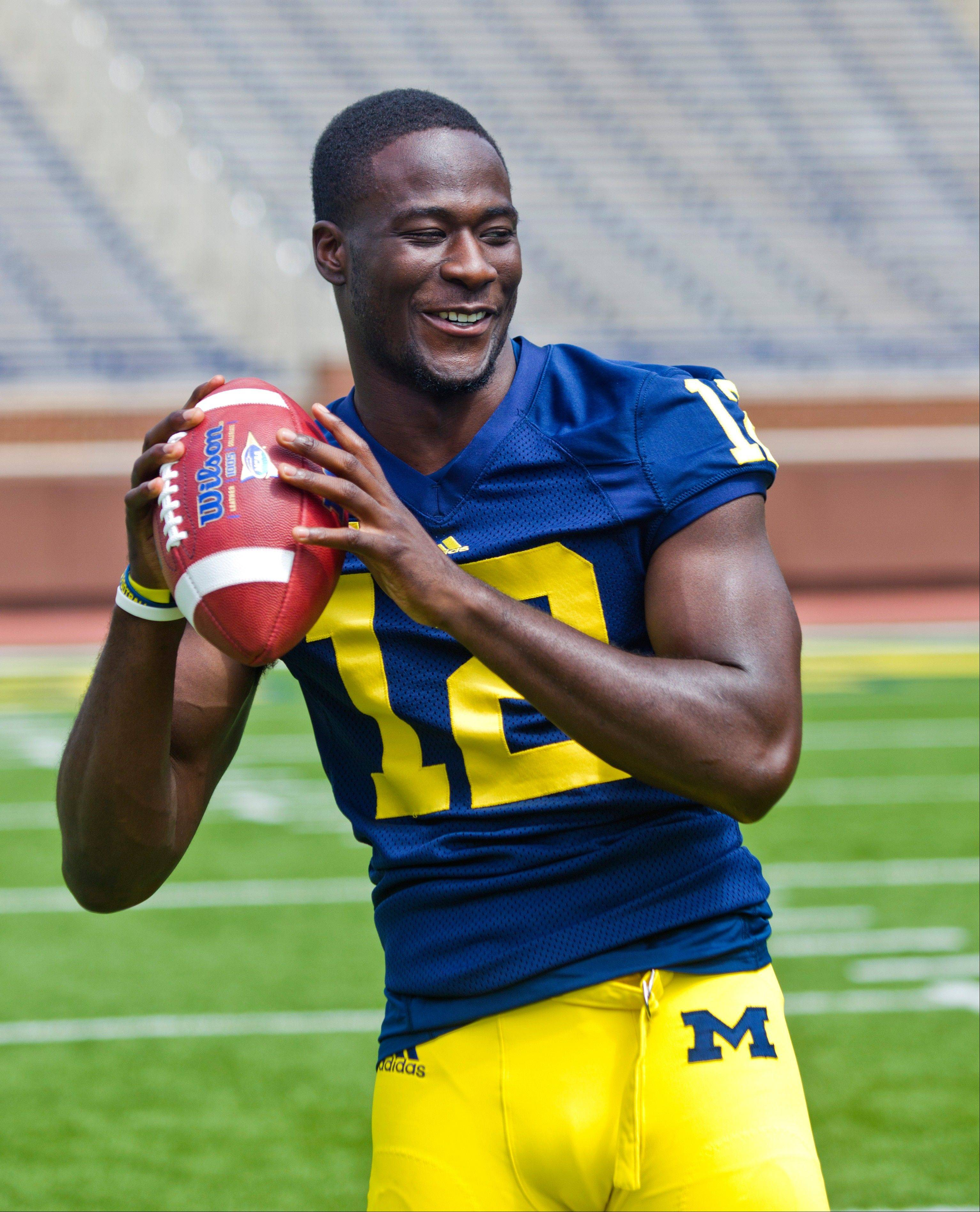 Devin Gardner takes over quarterback for Michigan this season.