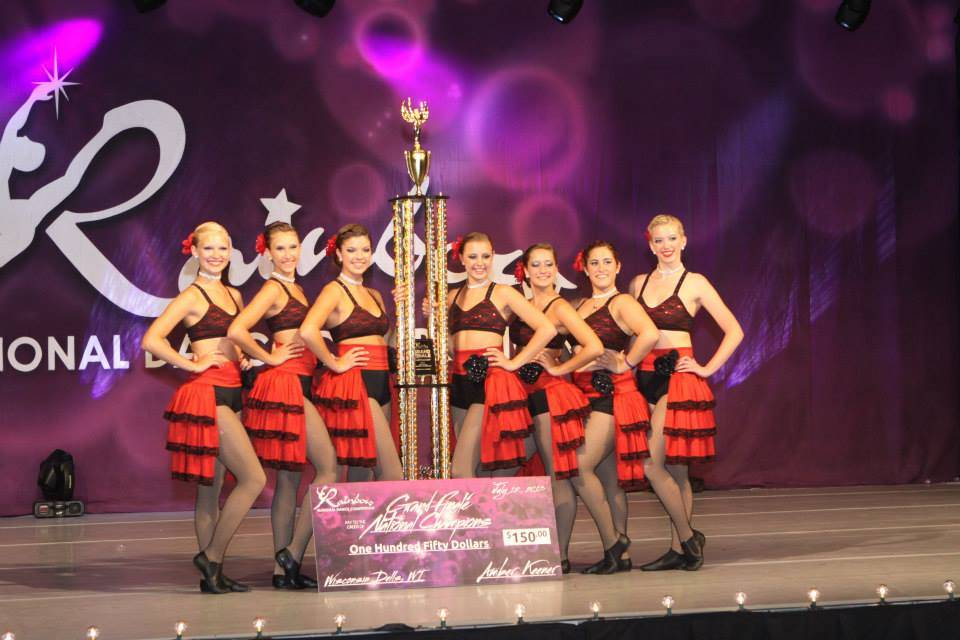 "2013 Extreme Artistry Dance ""Americano"" Named Rainbow 2013 Grand National Champions."