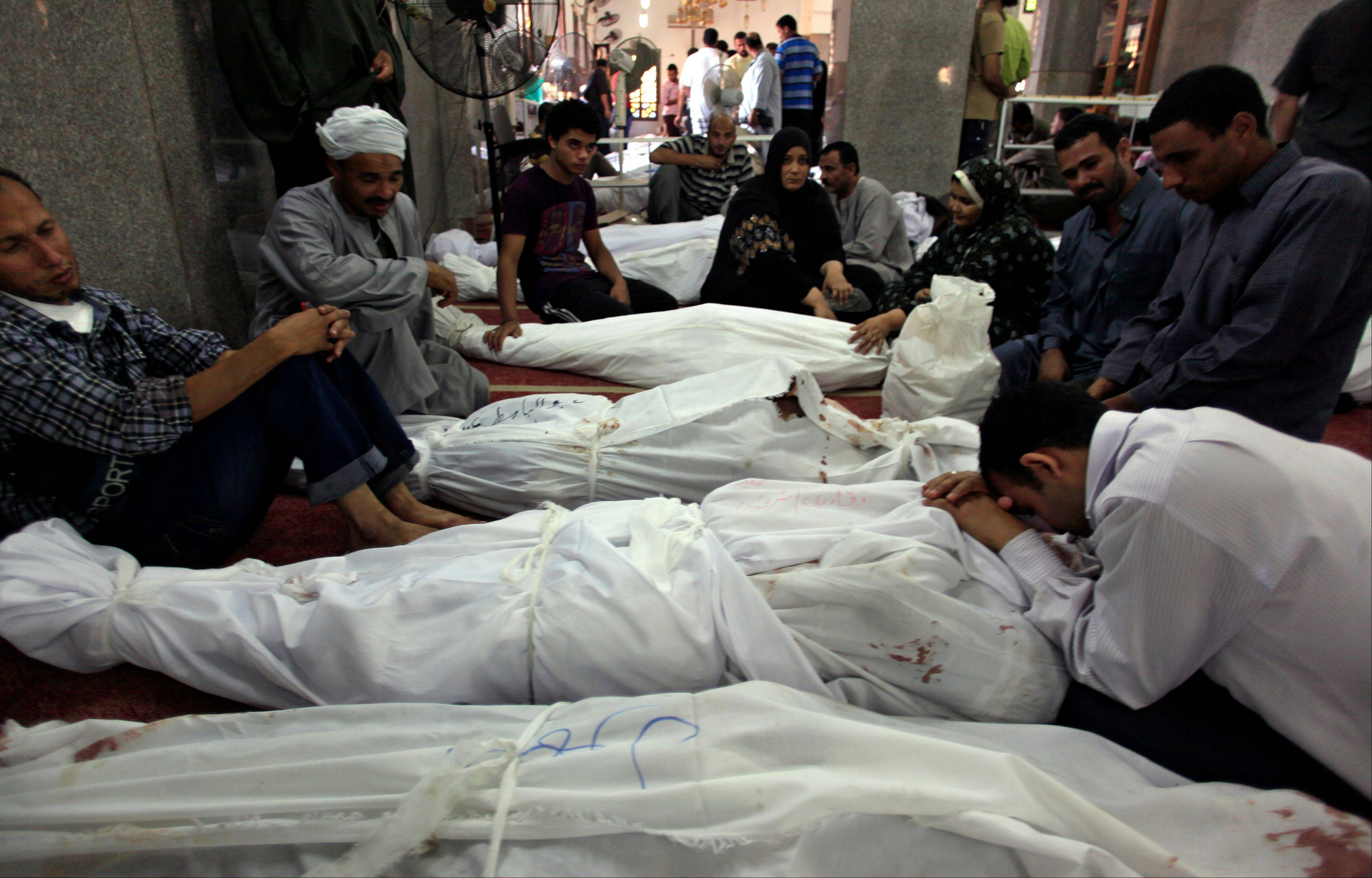 Death toll from Egypt violence rises to 525