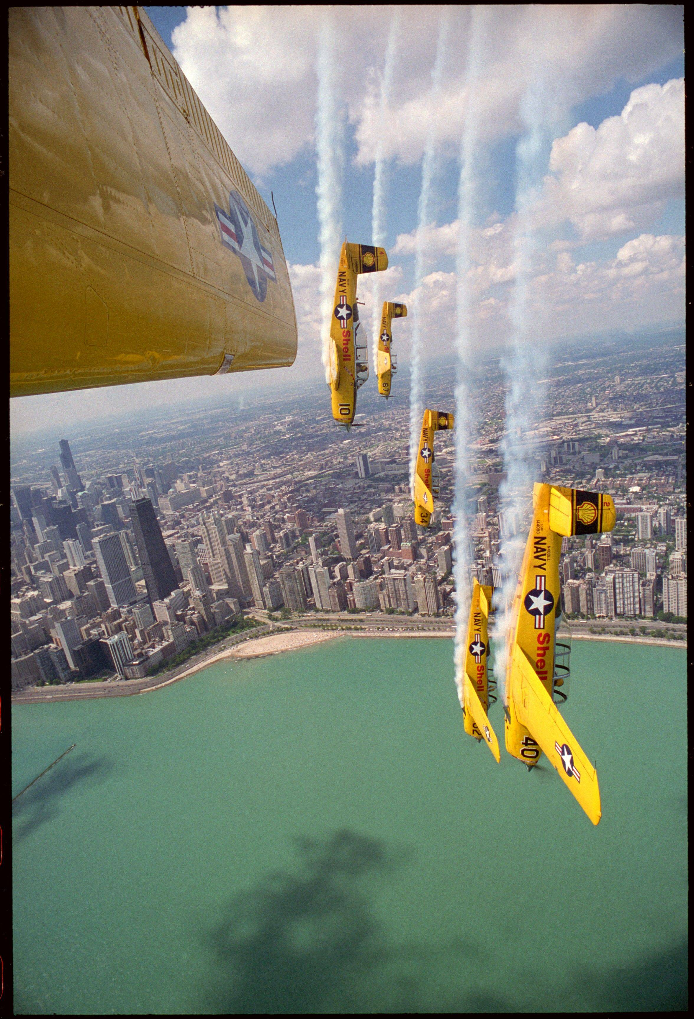 The Lima Lima Flight Team returns to the Chicago Air & Water Show this weekend.