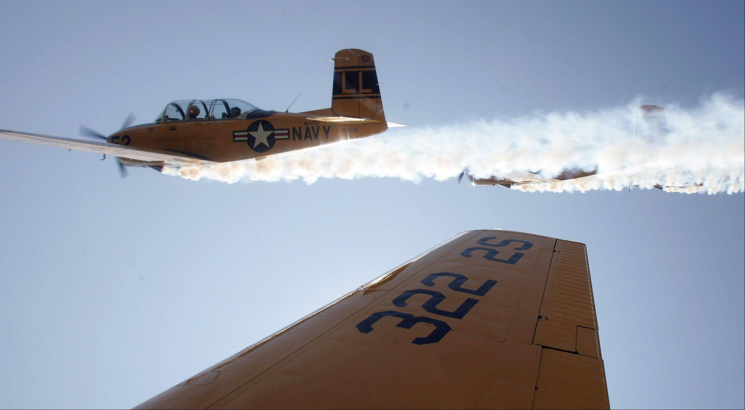 The Lima Lima Flight Team will be part of the 55th annual Chicago Air and Water Show this weekend.