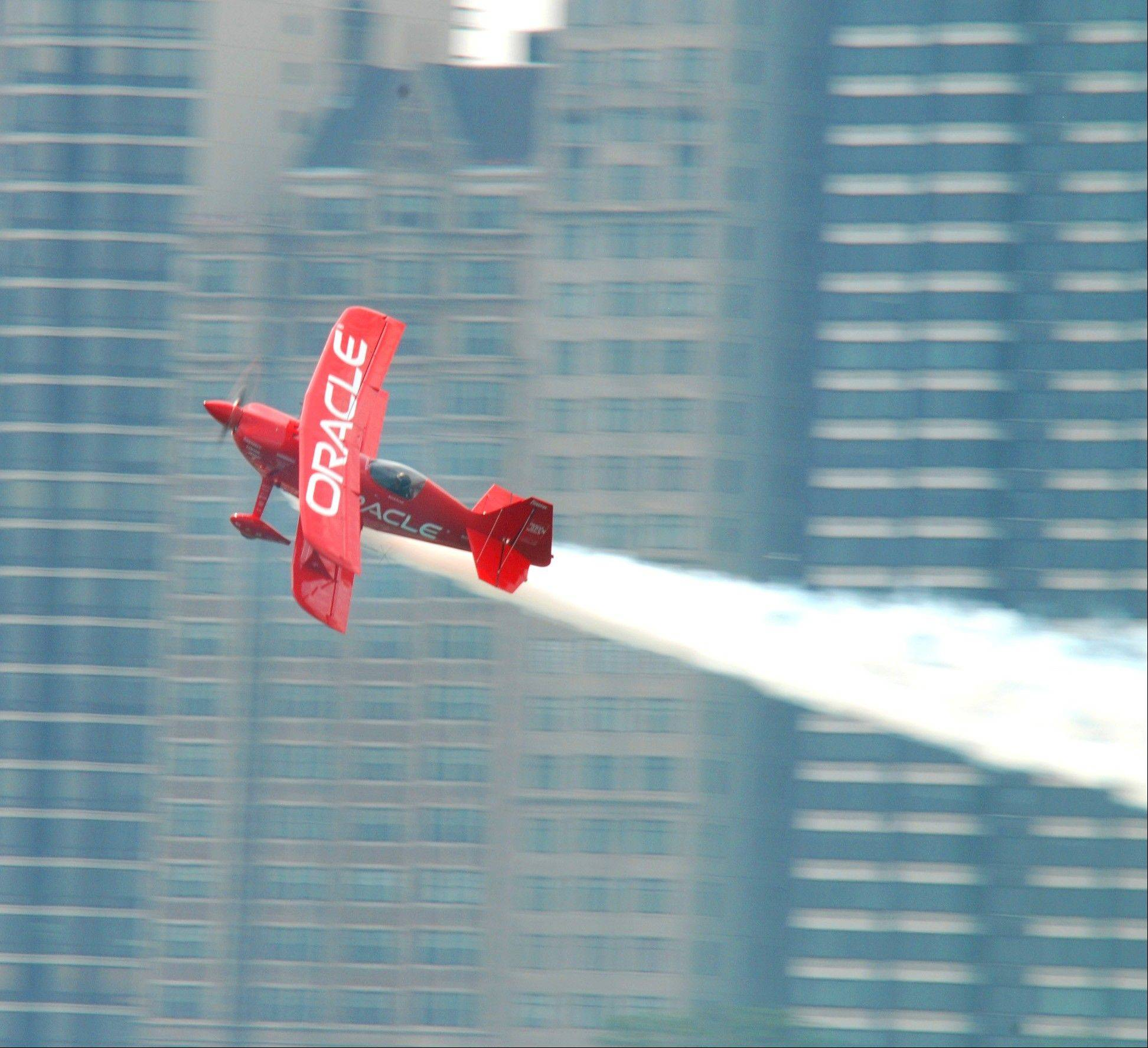 Sean D. Tucker and Team Oracle will fly in the 55th annual Chicago Air & Water Show.