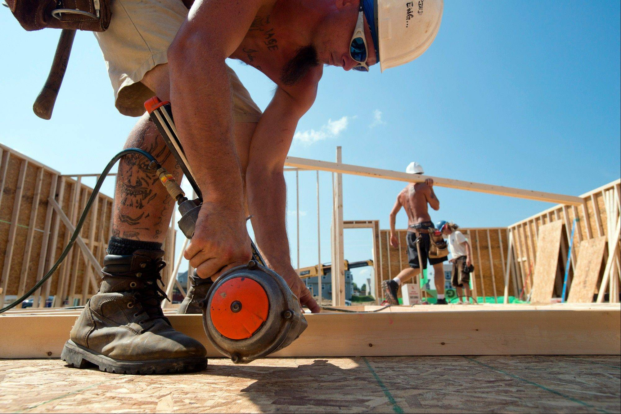 Confidence among U.S. homebuilders is at its highest level in nearly eight years, fueled by optimism that demand for new homes will drive sales growth into next year.