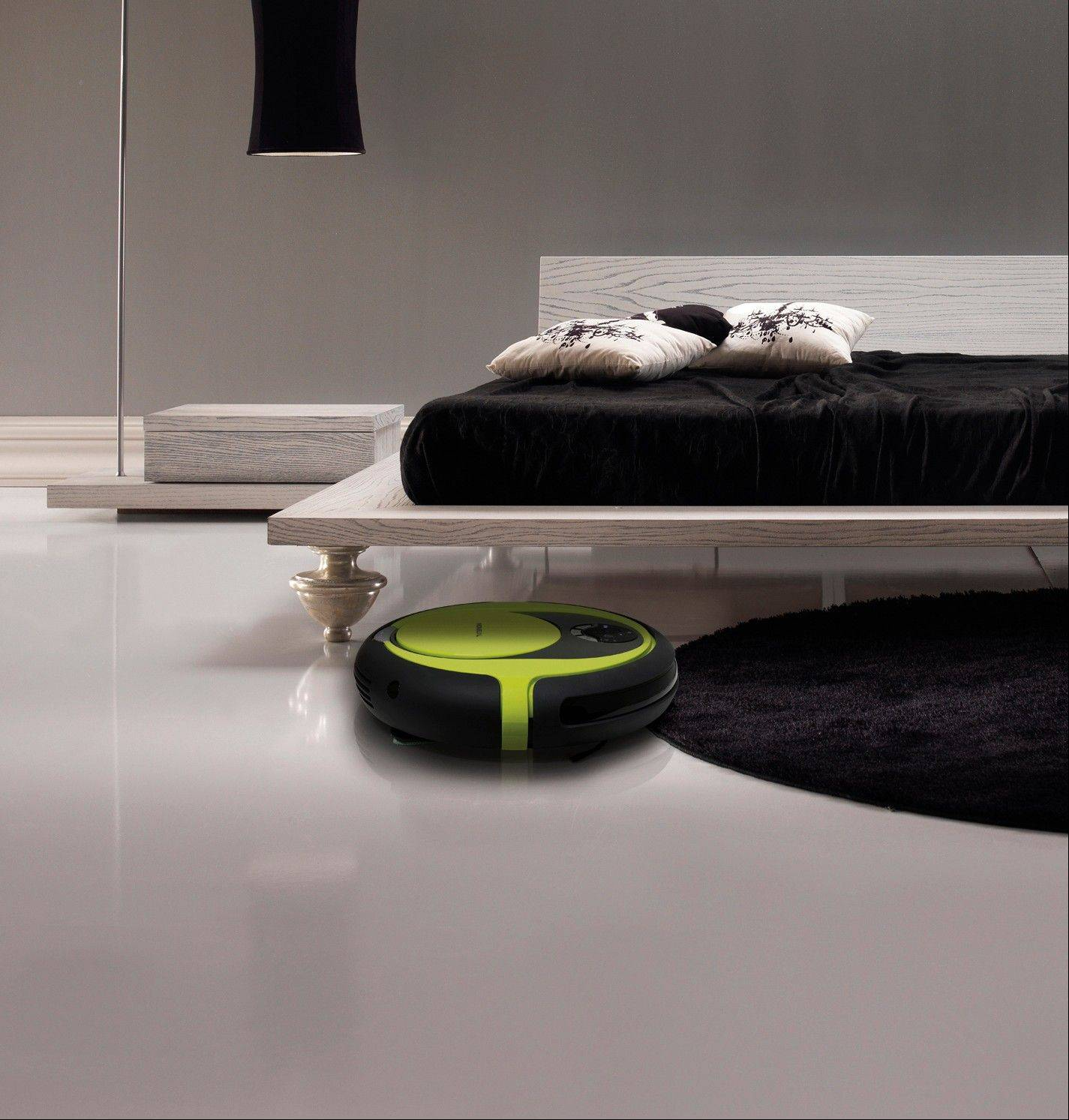 The Rydis robot vacuum from Moneualusa.com which has several cleaning settings, including an option to schedule a clean while you are away and a room indicator system to custom design the vacuuming intensity in different parts of the room.