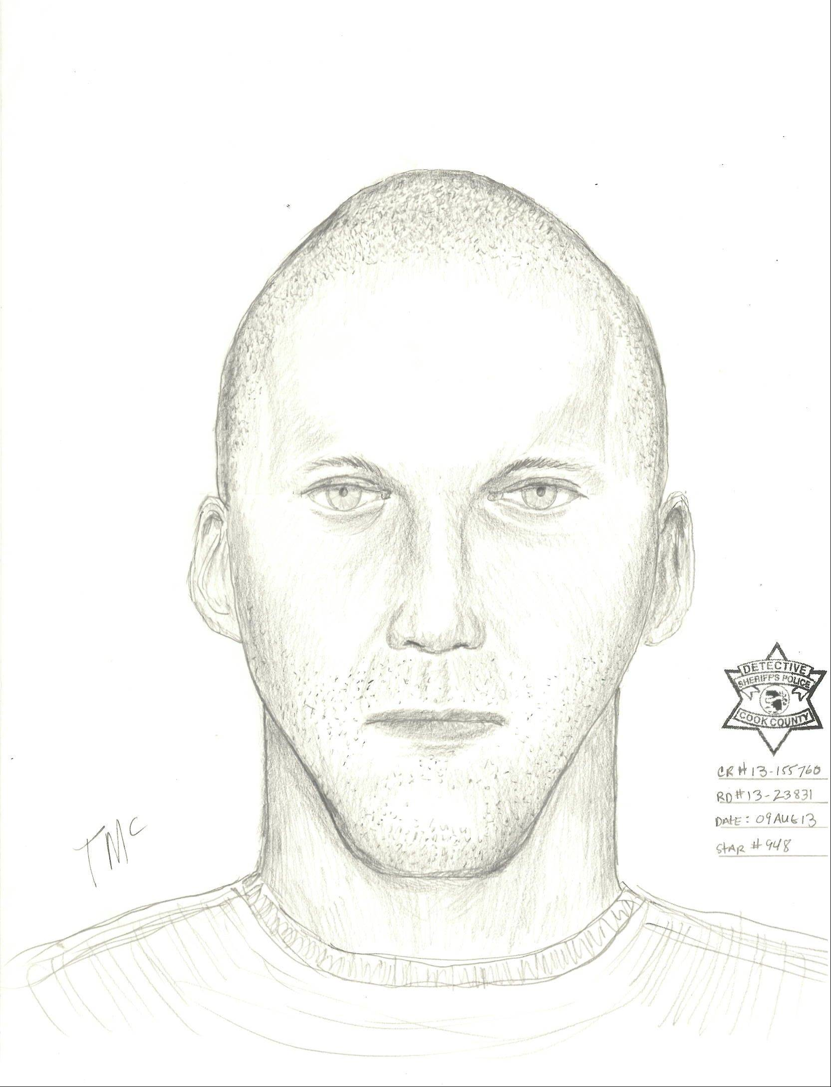 A suspect in an Aug. 8 home invasion in Des Plaines.