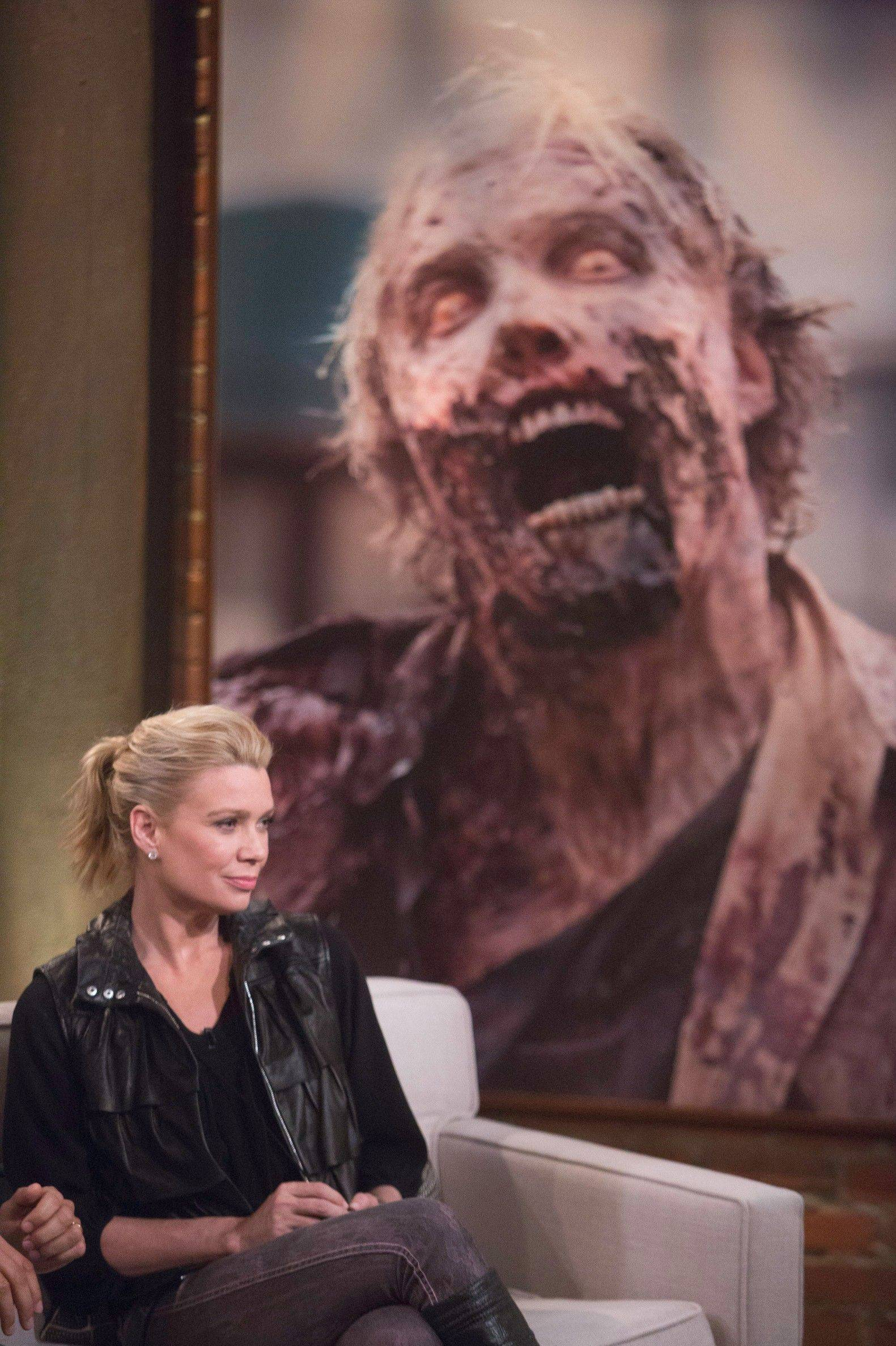 """Walking Dead"" star Laurie Holden dissects an episode in the AMC drama's after-show, ""Talking Dead."""