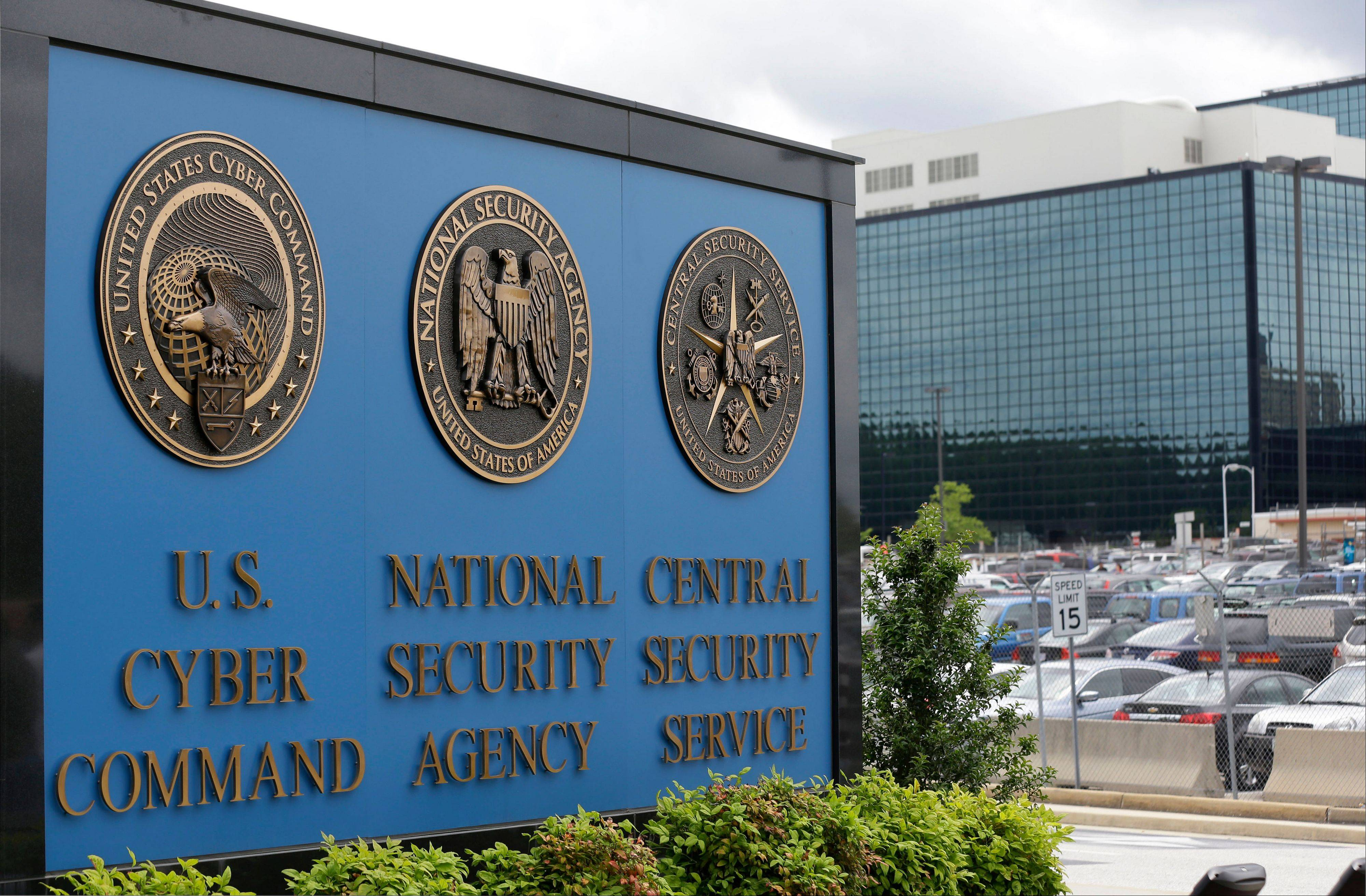 The sign outside the National Security Agency campus in Fort Meade, Md. The NSA has broken privacy rules or overstepped its legal authority thousands of times each year since Congress granted the intelligence agency broad new powers in 2008, The Washington Post reports.
