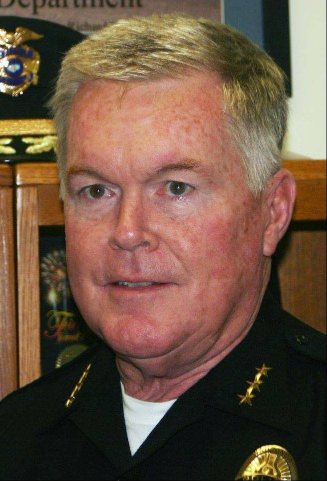 Douglas Larsson, outgoing Wauconda police chief