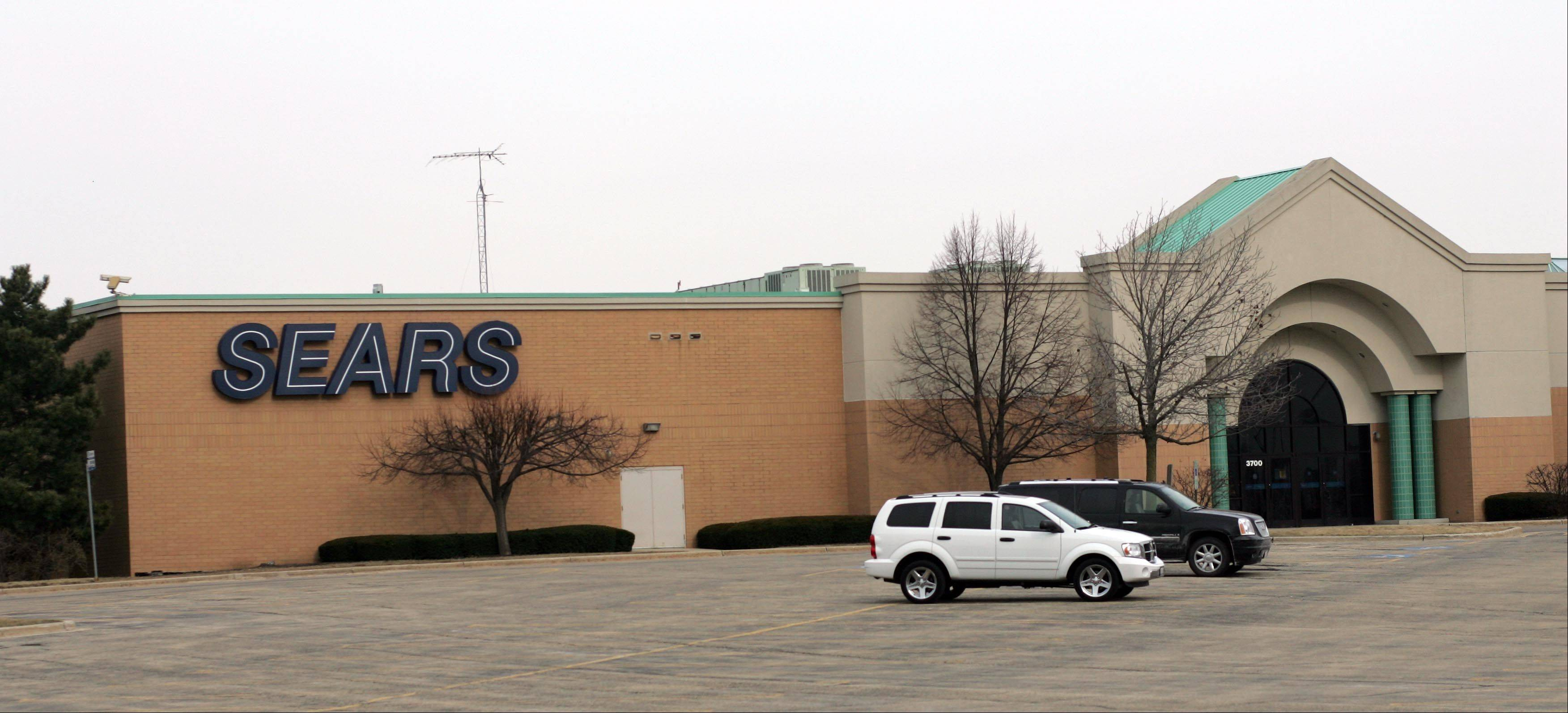 Sears at Charlestowne Mall in St. Charles closed in 2011.