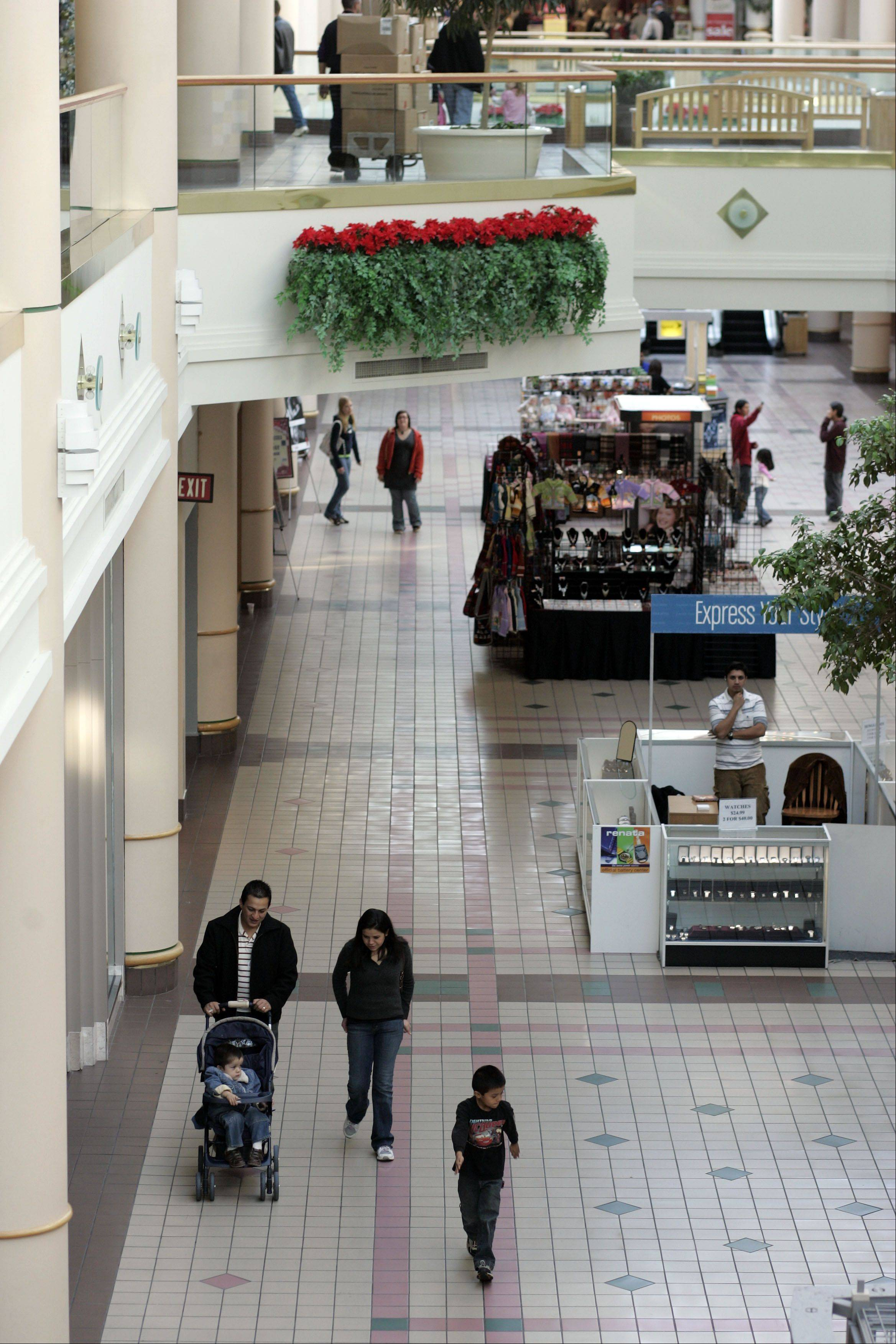 Even on Black Friday in November 2007, Charlestowne Mall could not attract the level of foot traffic needed to sustain thriving shops.
