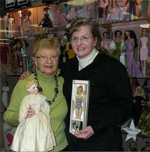 Gigi and Sherry will provide expert appraisals and doll repair advice at the workshop Aug. 21.