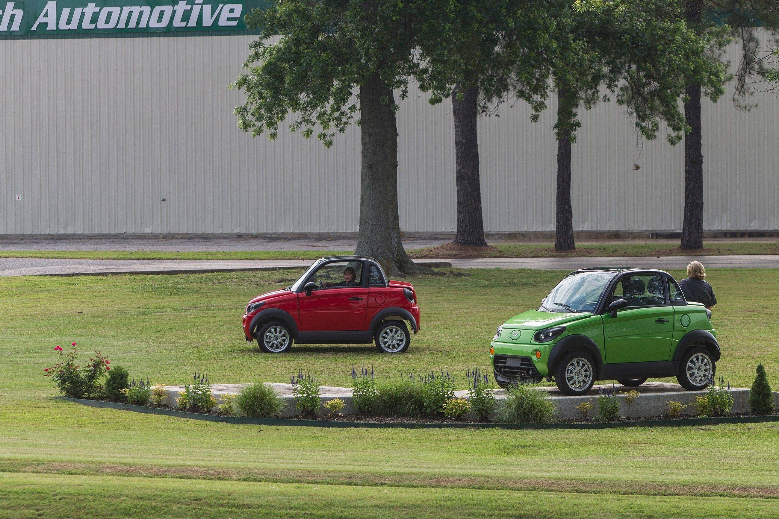 GreenTech Automotive's MyCar electric vehicles currently come from a temporary factory in Horn Lake, Miss. The company has said it plans to build a state-of-the-art plant in nearby Tunica.