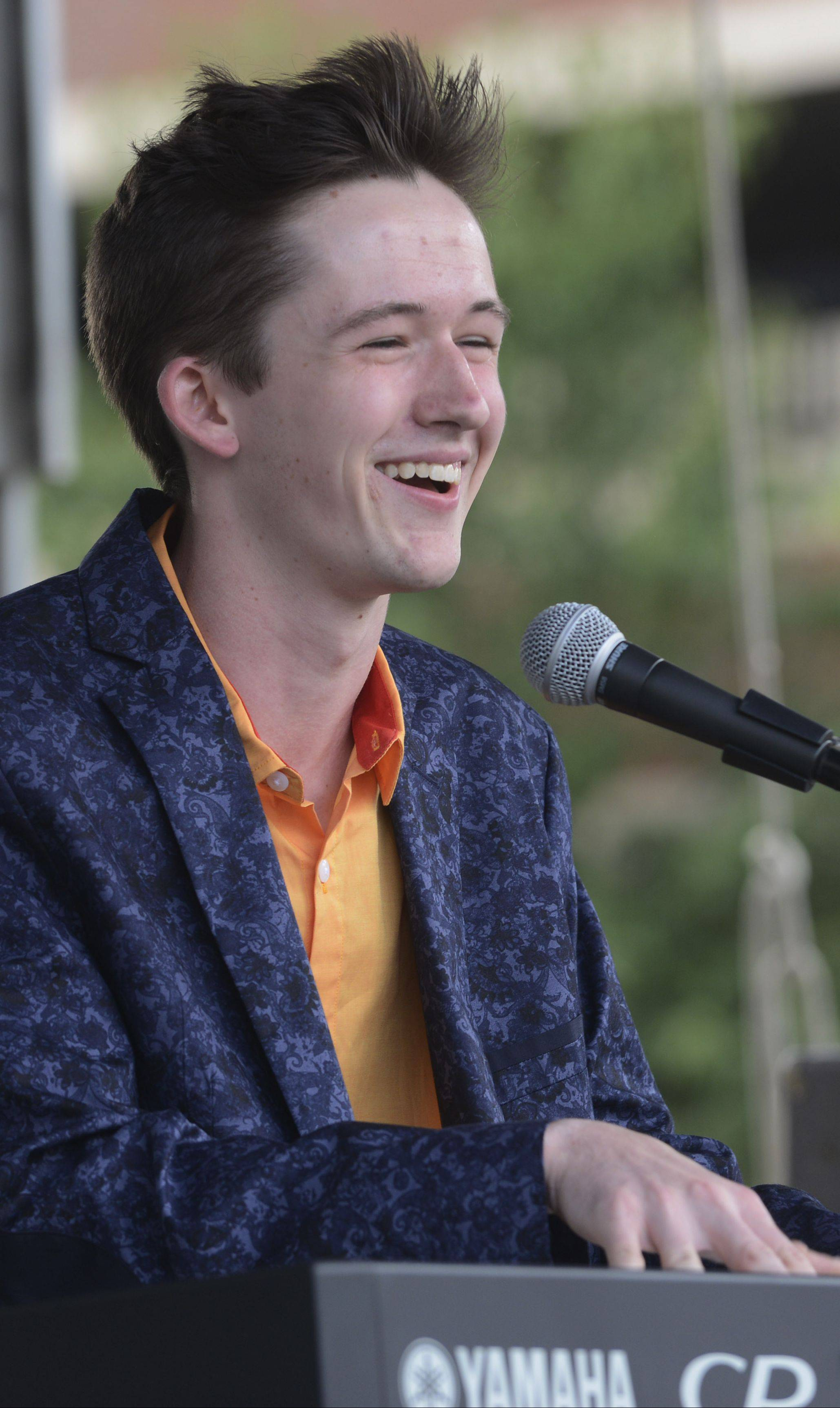 Riley Mangan, a top 10 finalist of Suburban Chicago's Got Talent, is set to perform at Randhurst Village before a performance of Maggie Speaks on Aug. 21.