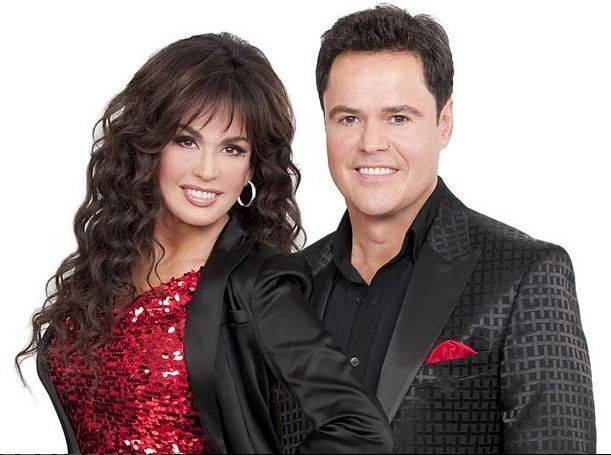 "Marie and Donny Osmond star in ""The Donny and Marie Christmas Tour 2013,"" coming to the Allstate Arena in Rosemont on Friday, Dec. 20."