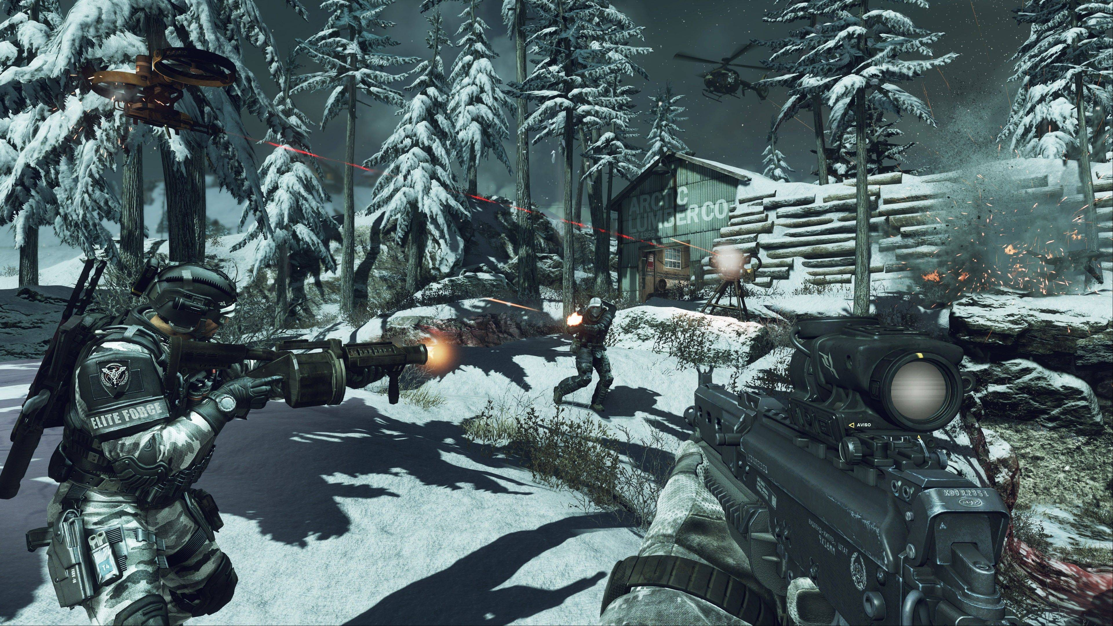 """Call of Duty: Ghosts"" is summoning new ways to play the first-person shooter online."