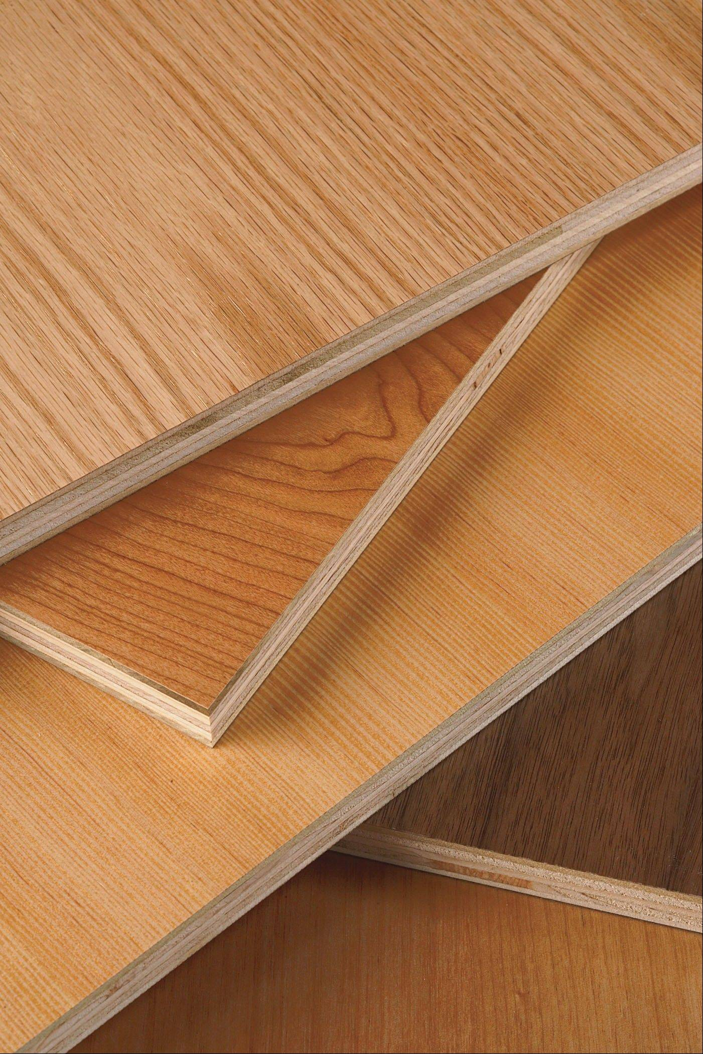 Formaldehyde-free plywood is better for the environment, experts say.