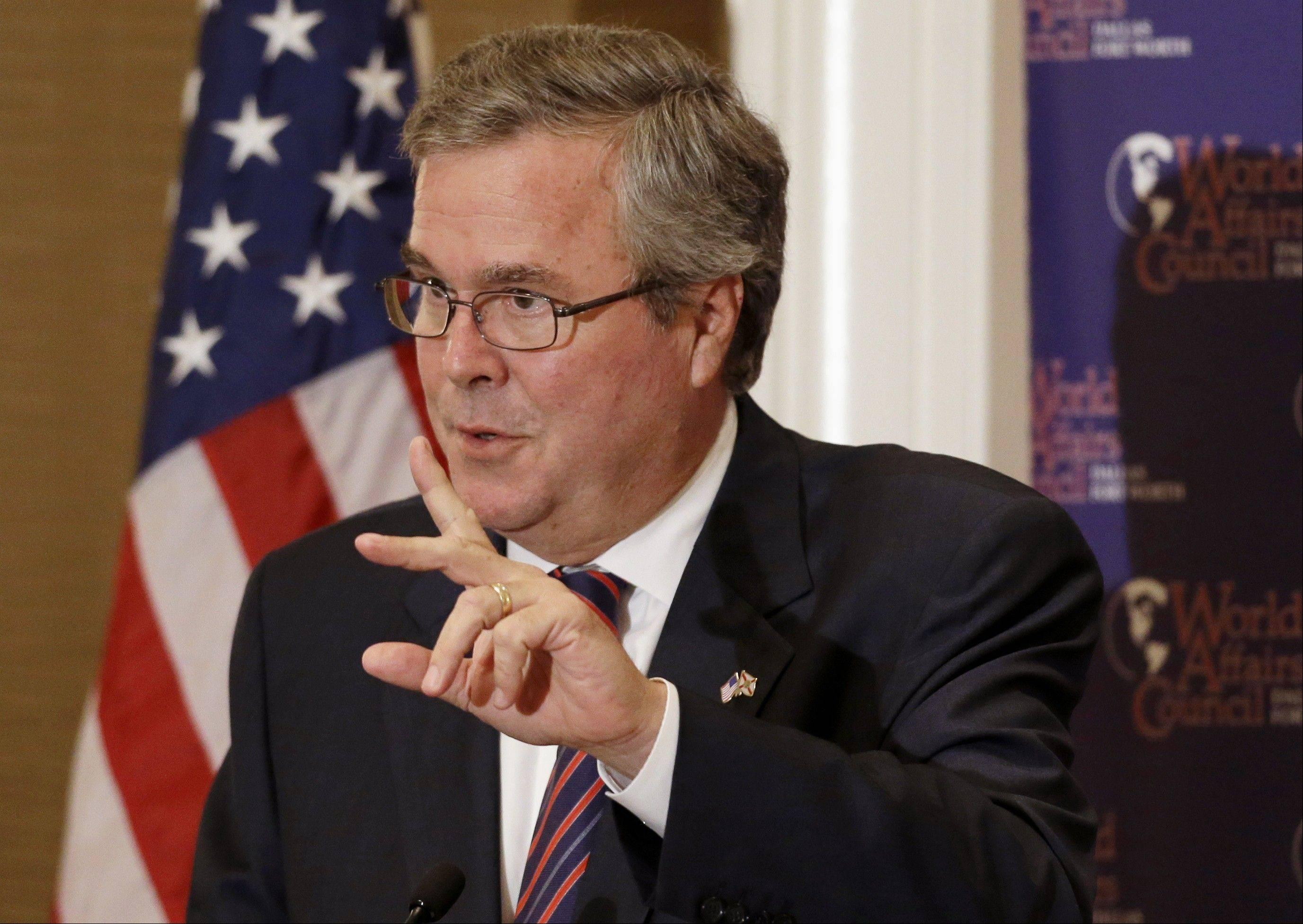 Ex-Florida Gov. Jeb Bush