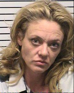 Lisa Robin Kelly after her arrest for assault in 2012.
