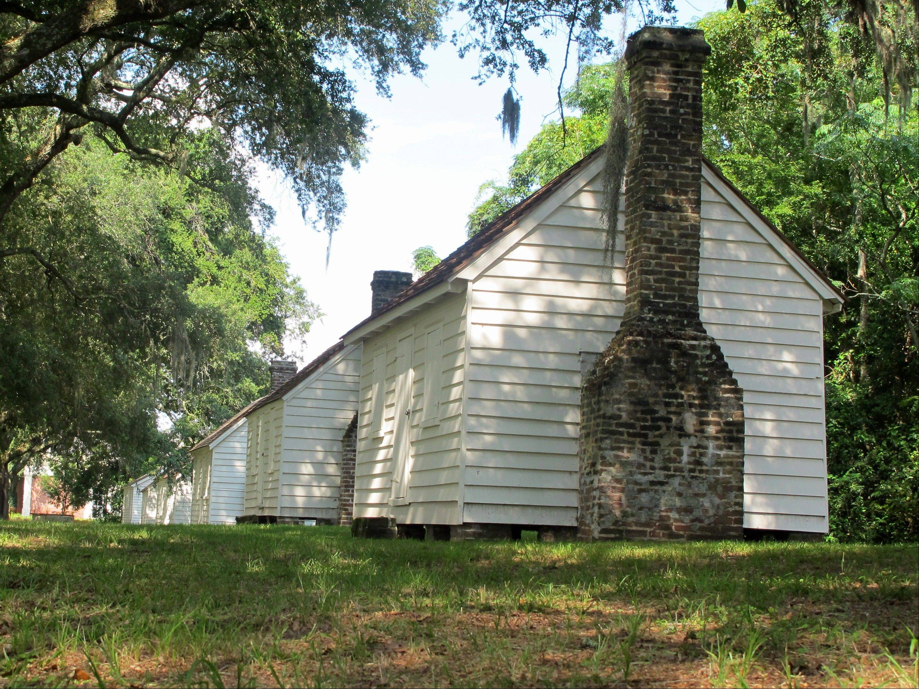 Associated PressA row of slave cabins sit empty at McLeod Plantation in Charleston, S.C. Joe McGill, who works with the National Trust For Historic Preservation, has slept in old slave dwellings in a dozen states during the past three years as part of the Slave Dwelling Project to draw attention to the need to preserve the structures.