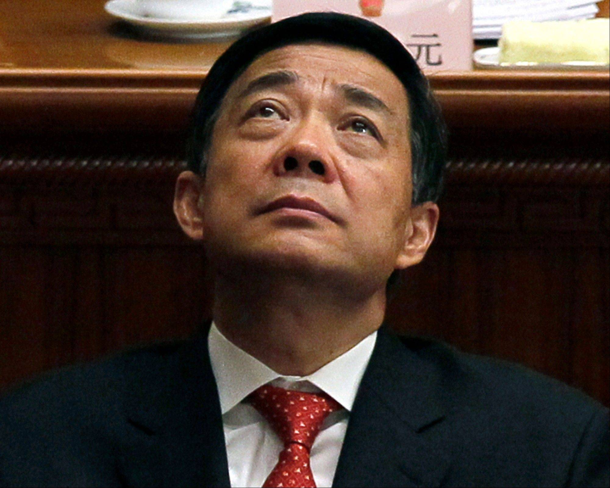 Bo Xilai, a rising Communist Party star who fell from power last year, will go on trial Thursday on corruption charges, a court announced on Sunday that put China's new leaders on course to wrap up a festering scandal as they try to cement their authority.