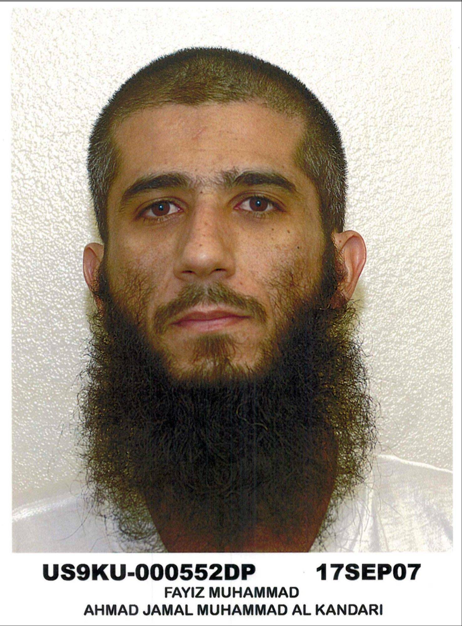 Guantanamo detainee Faez al-Kandari, 36, is a Kuwaiti who has been held for more than 11 years at the Guantanamo Bay prison.