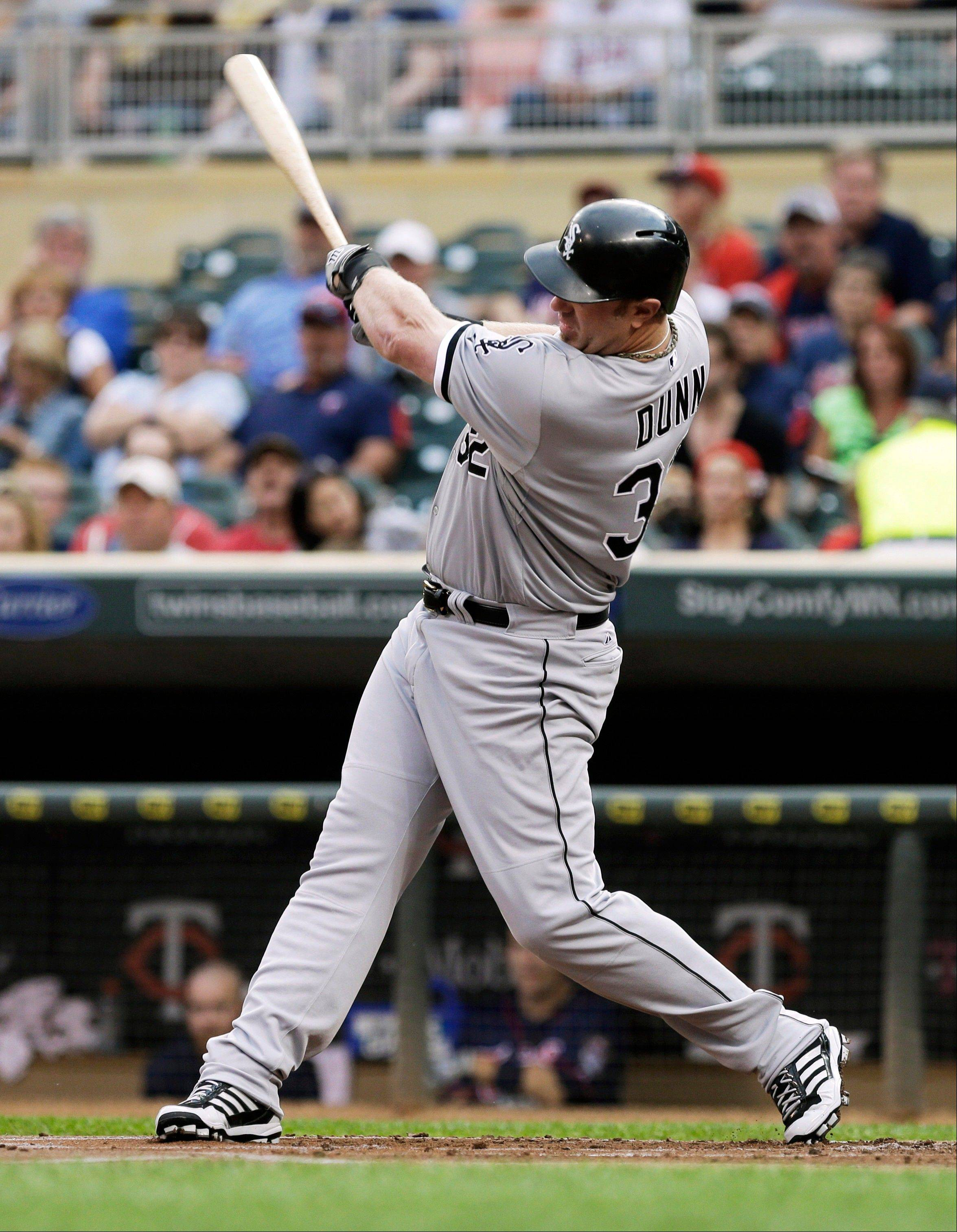 Adam Dunn is an easy target for frustrated White Sox fans, but the first baseman/DH has been producing better than anyone on the roster.