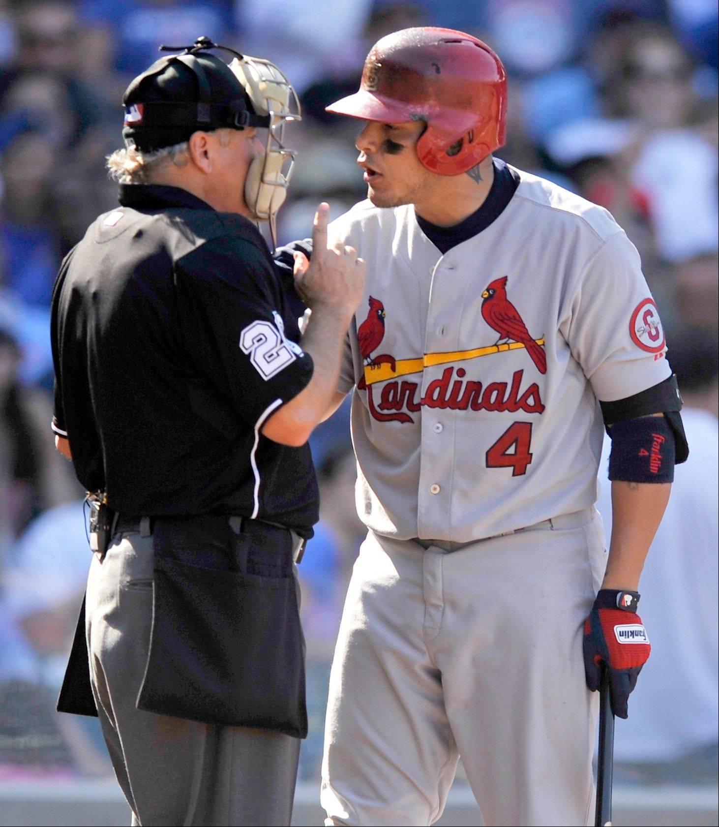 Cubs fans may disagree, but Cardinals catcher Yadier Molina is one of Len Kasper's favorite players who don't play for the Cubs.