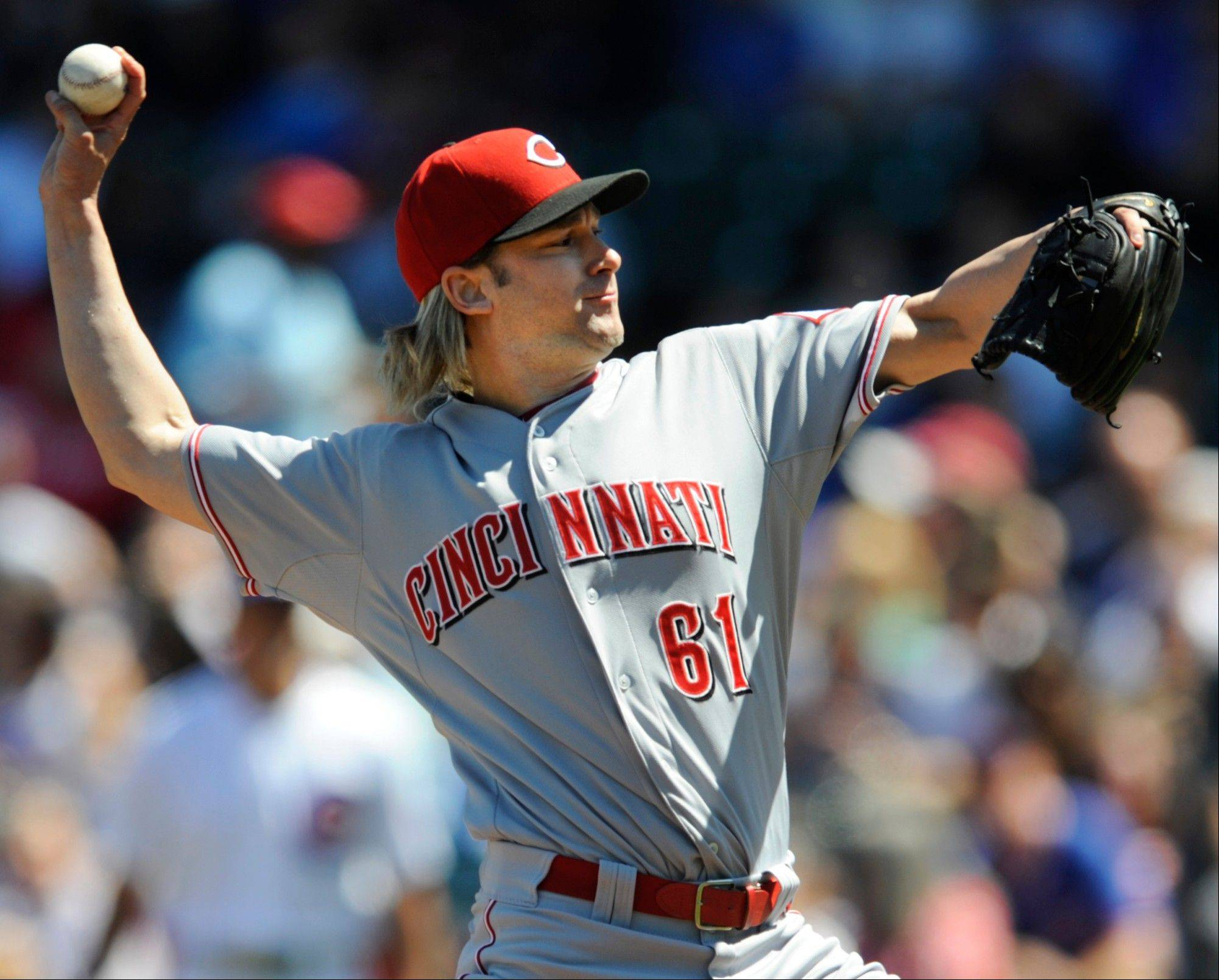 Cincinnati Reds starter Bronson Arroyo is one of Len Kasper's favorite players outside who don't play for the Cubs