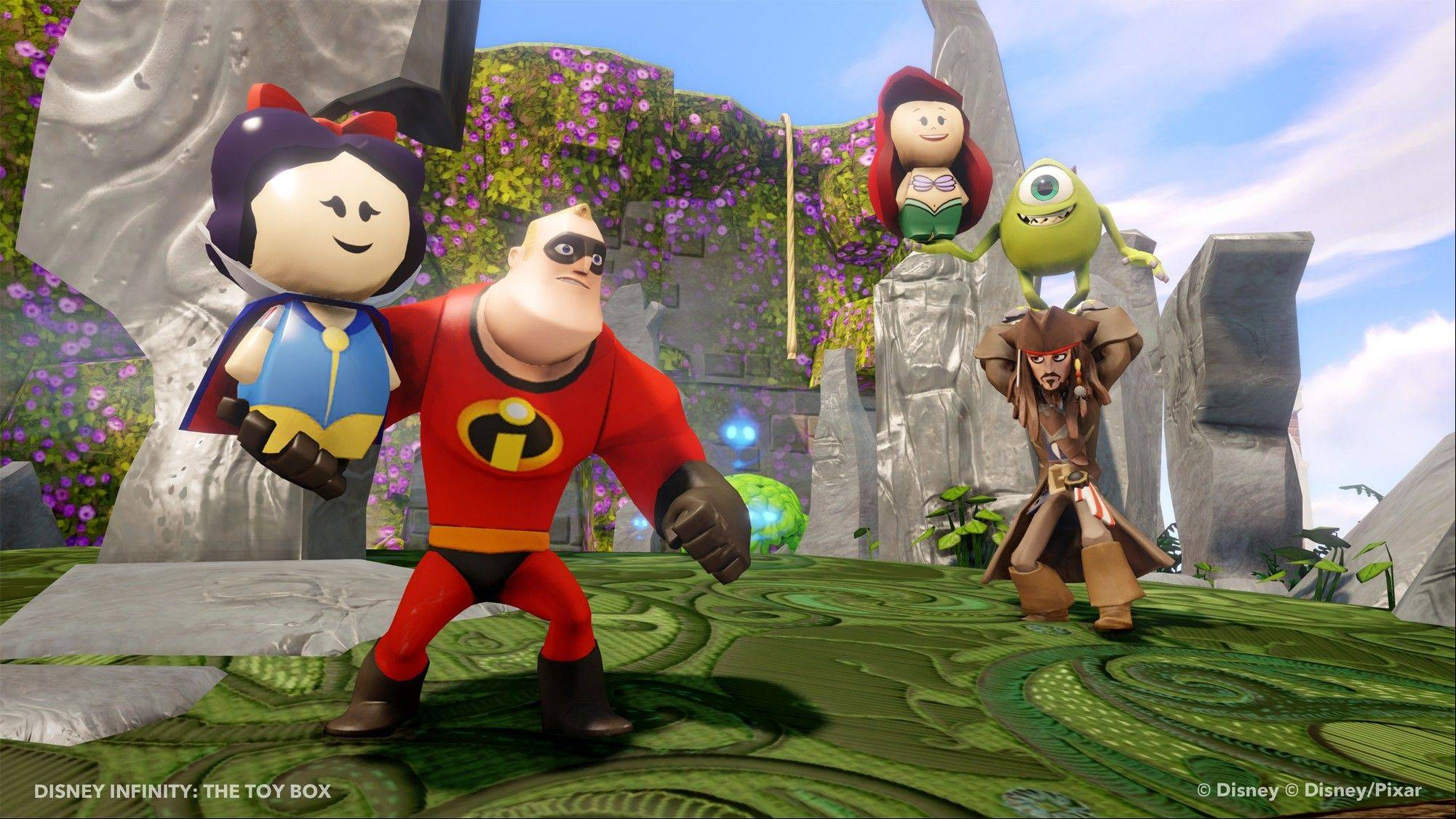 """Disney Infinity"" is an open-world, 3-D game of unlimited possibilities in which the player can control one of a myriad of Disney characters."