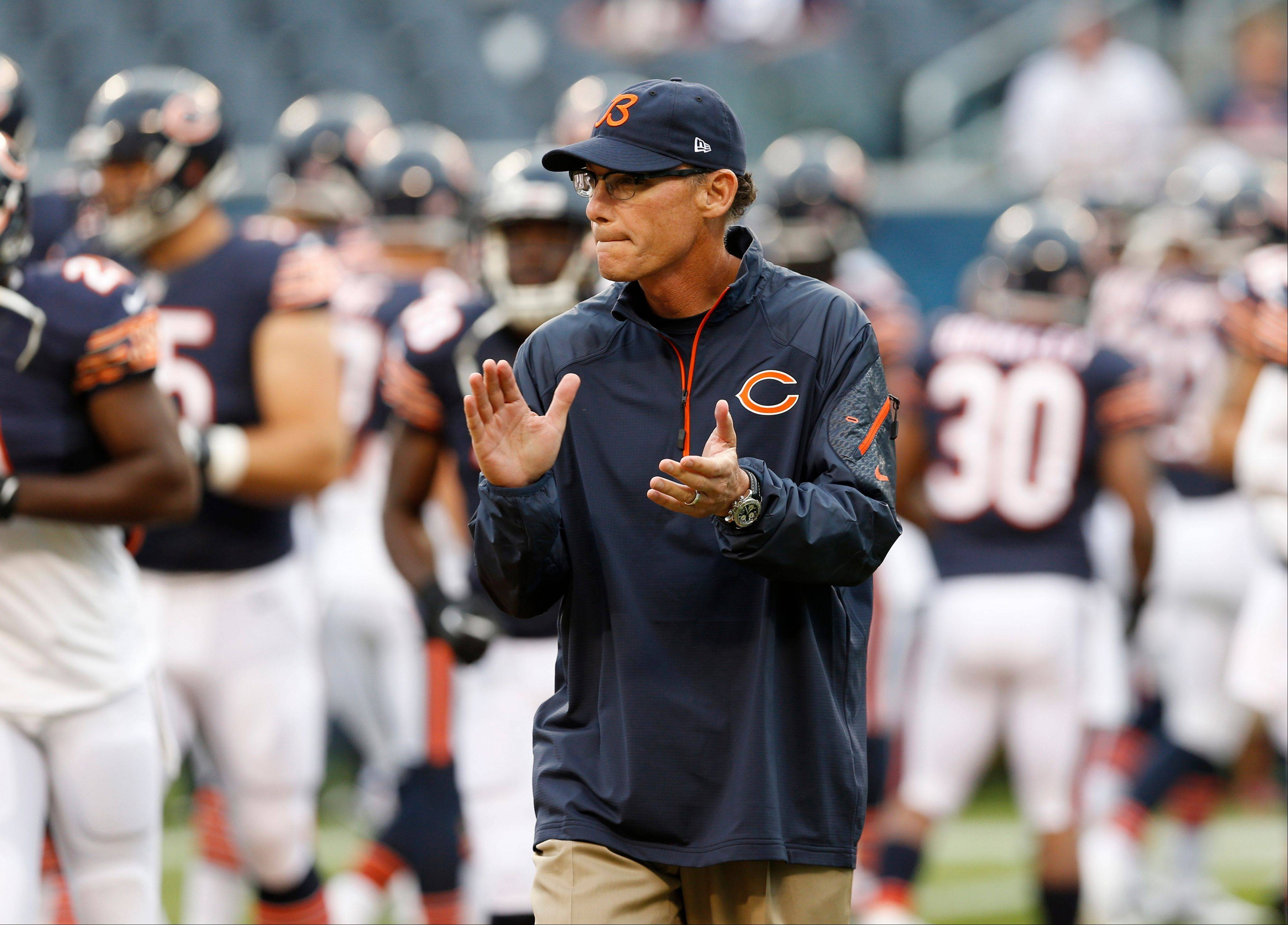 Trestman pondering Bears' depth chart at quarterback